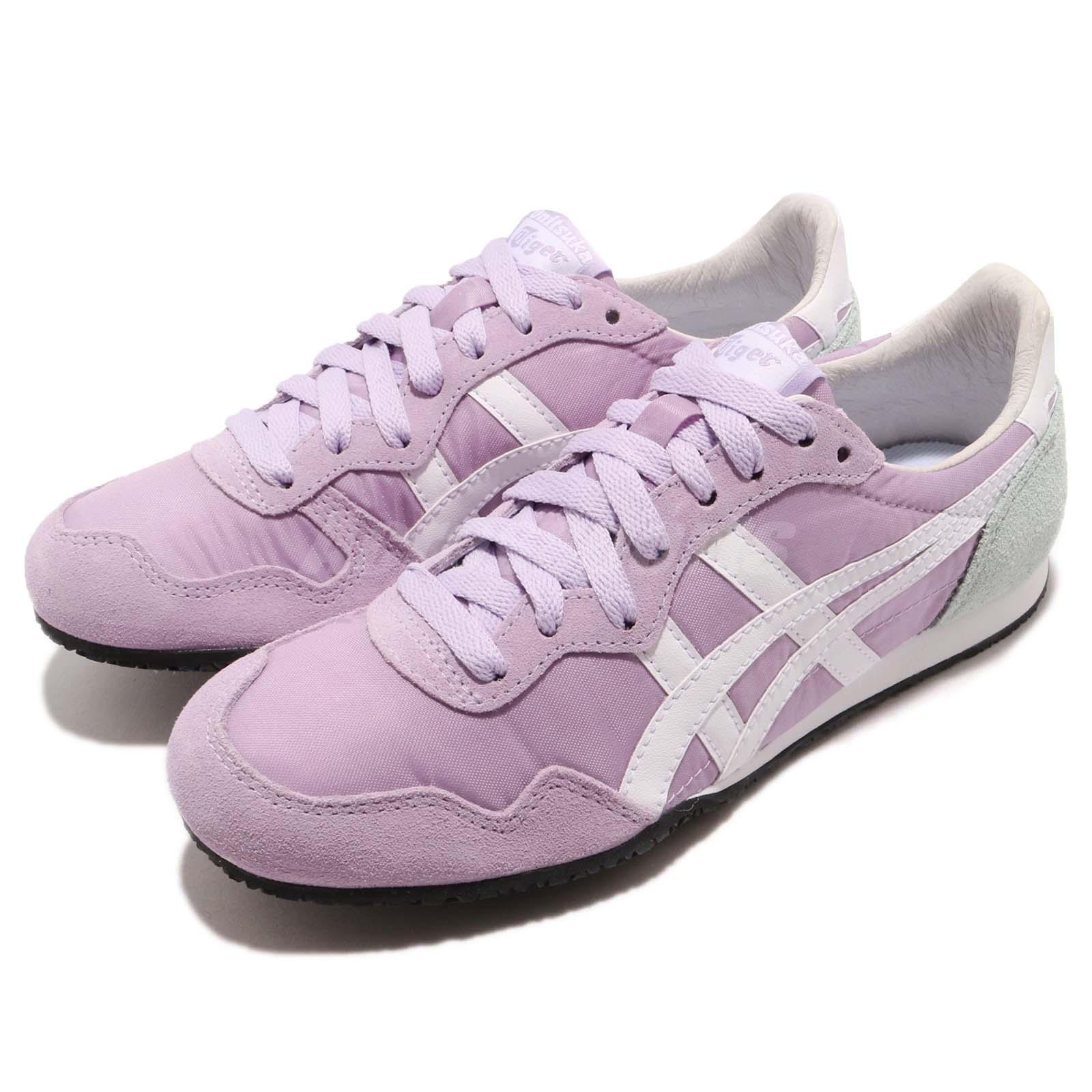 wholesale dealer 4b4c3 ec8bf Details about Asics Onitsuka Tiger Serrano Purple White Women Running Shoes  Sneaker D159L-0119