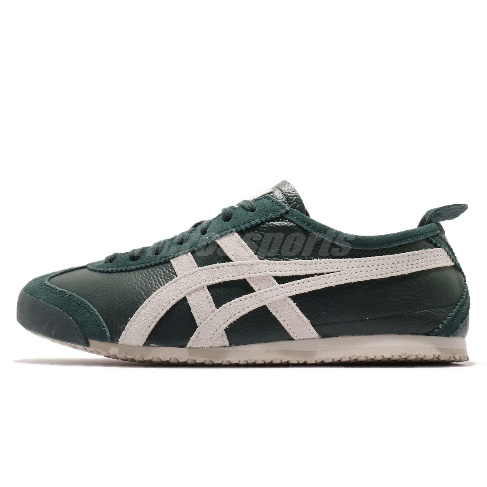 size 40 9b11b 5fefd Details about Asics Onitsuka Tiger Mexico 66 Vin Green Birch Men Running  Shoes D2J4L-8502