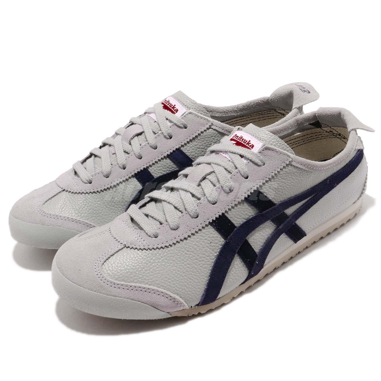 entire collection shop best sellers lace up in Asics Onitsuka Tiger Mexico 66 Vin Grey Peacoat Men Running Shoes ...