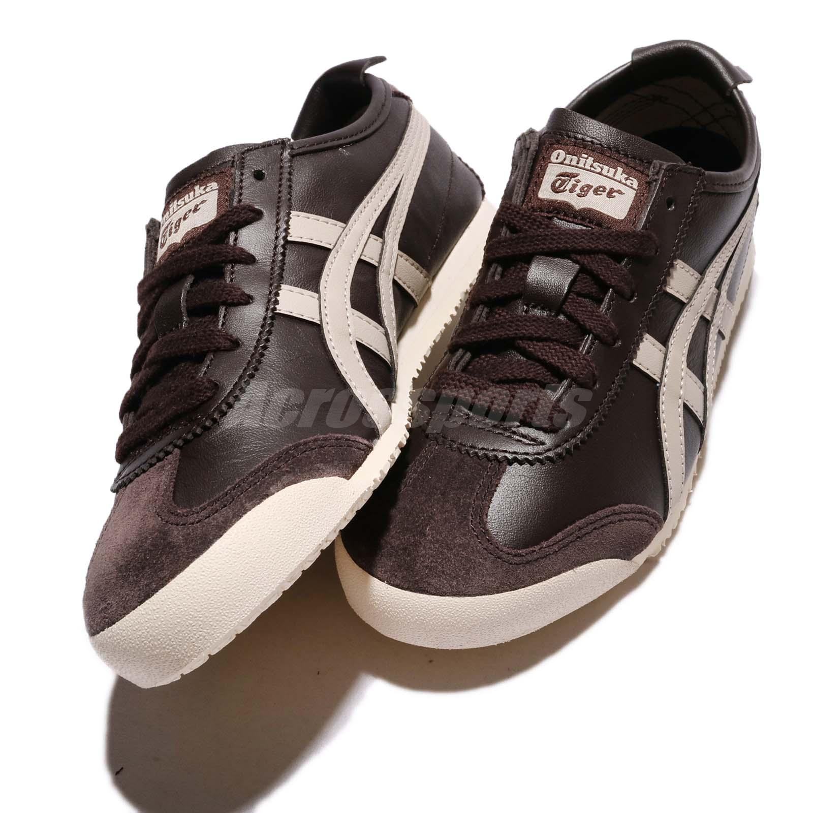 sale retailer 4a31e b9e31 Details about Asics Onitsuka Tiger Mexico 66 Coffee Feather Grey Men  Running Shoes D4J2L-2912