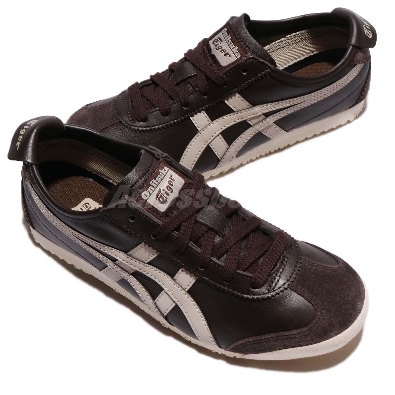 asics onitsuka tiger mexico 66 coffee feather grey men. Black Bedroom Furniture Sets. Home Design Ideas