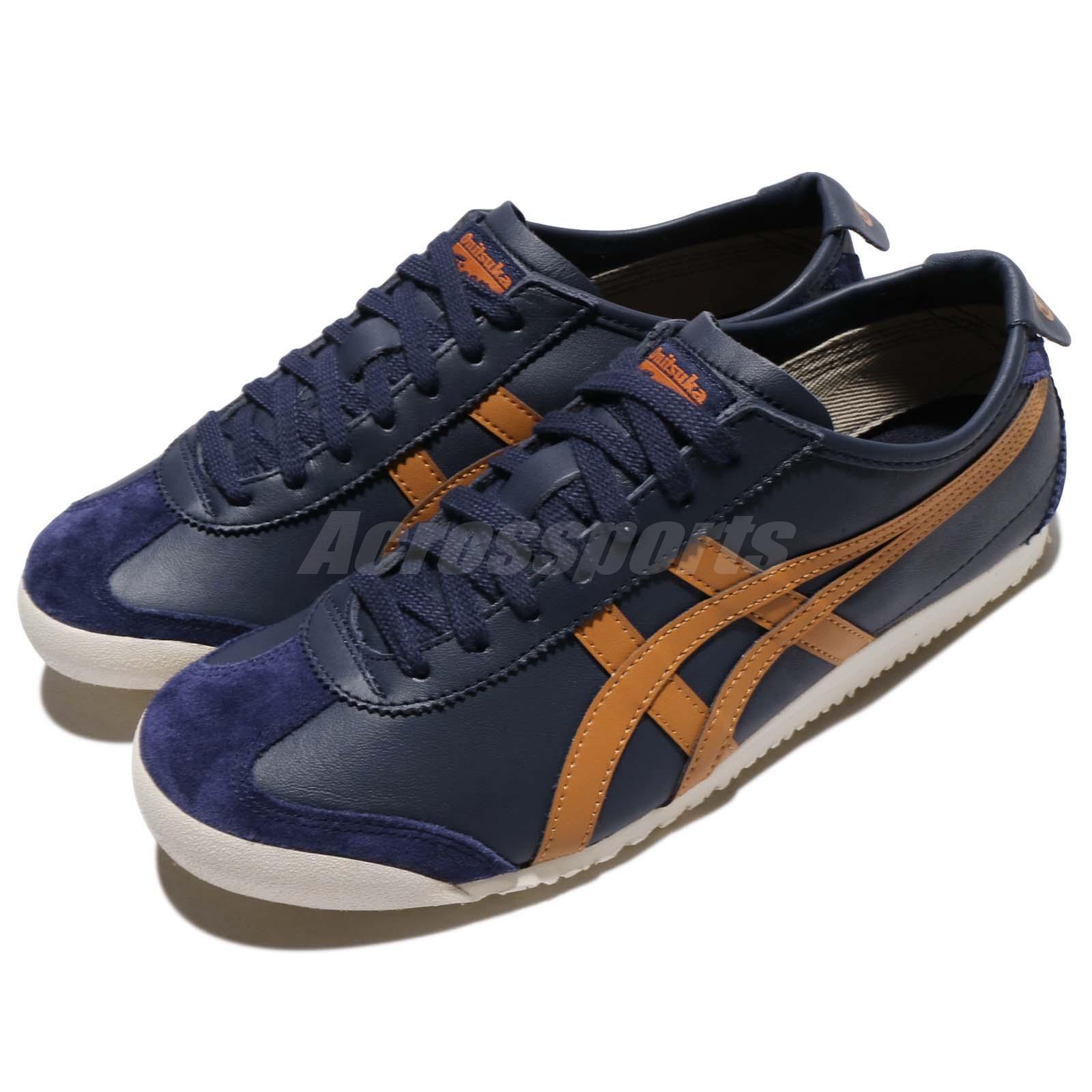 1a5e57586b Details about Asics Onitsuka Tiger Mexico 66 Peacoat Honey Ginger Men  Vintage Shoes D4J2L-5831