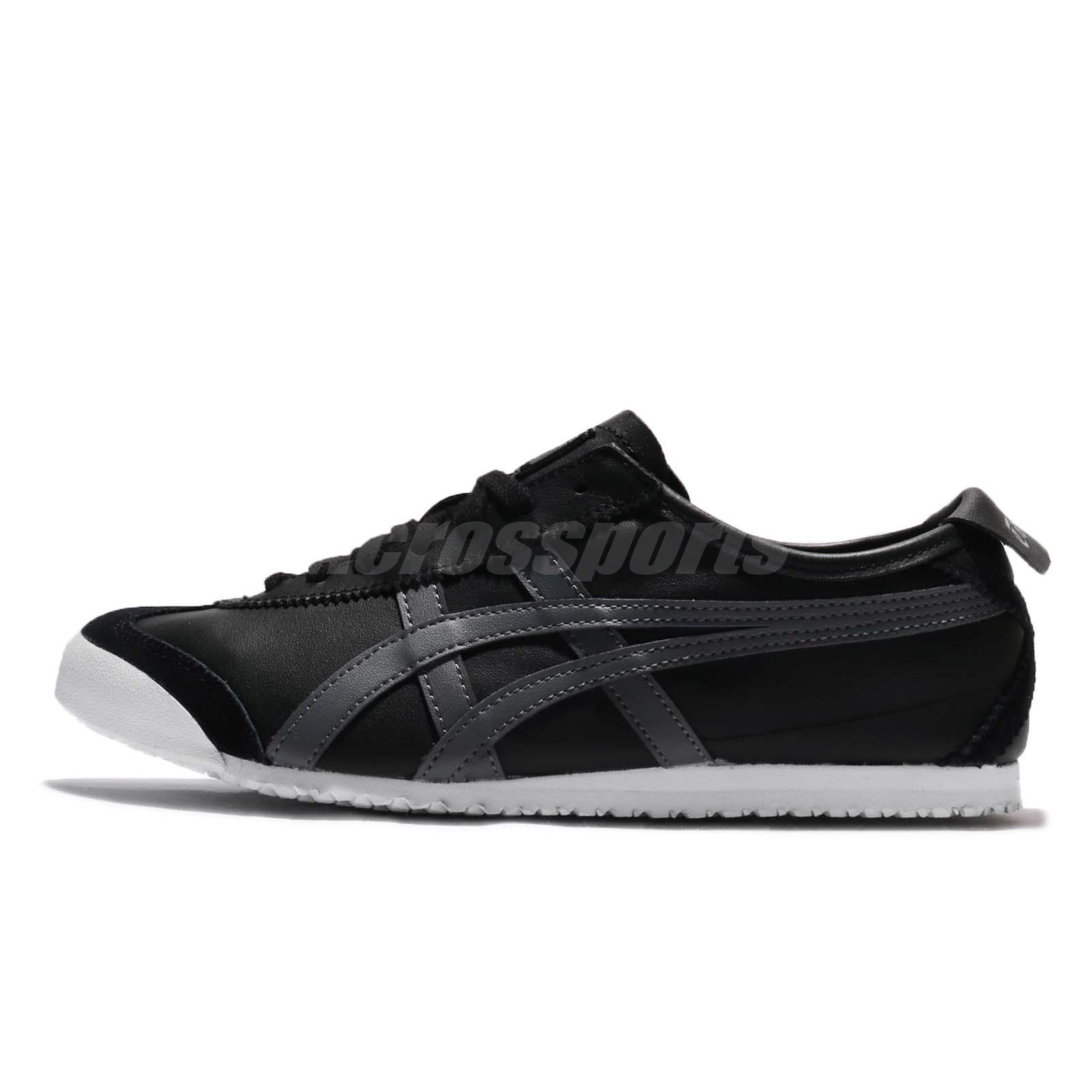 innovative design c2e25 adbe9 Details about Asics Onitsuka Tiger Mexico 66 Black Carbon Men Shoes  Sneakers D4J2L-9097