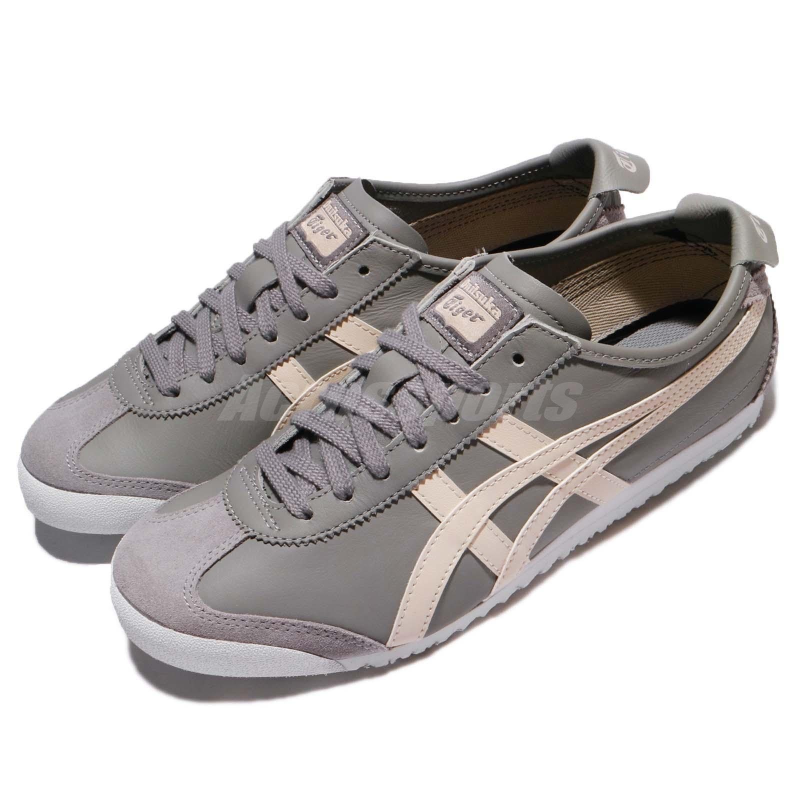promo code ce955 f3058 Details about Asics Onitsuka Tiger Mexico 66 Aluminum Birch Leather Men  Shoes D4J2L-9602