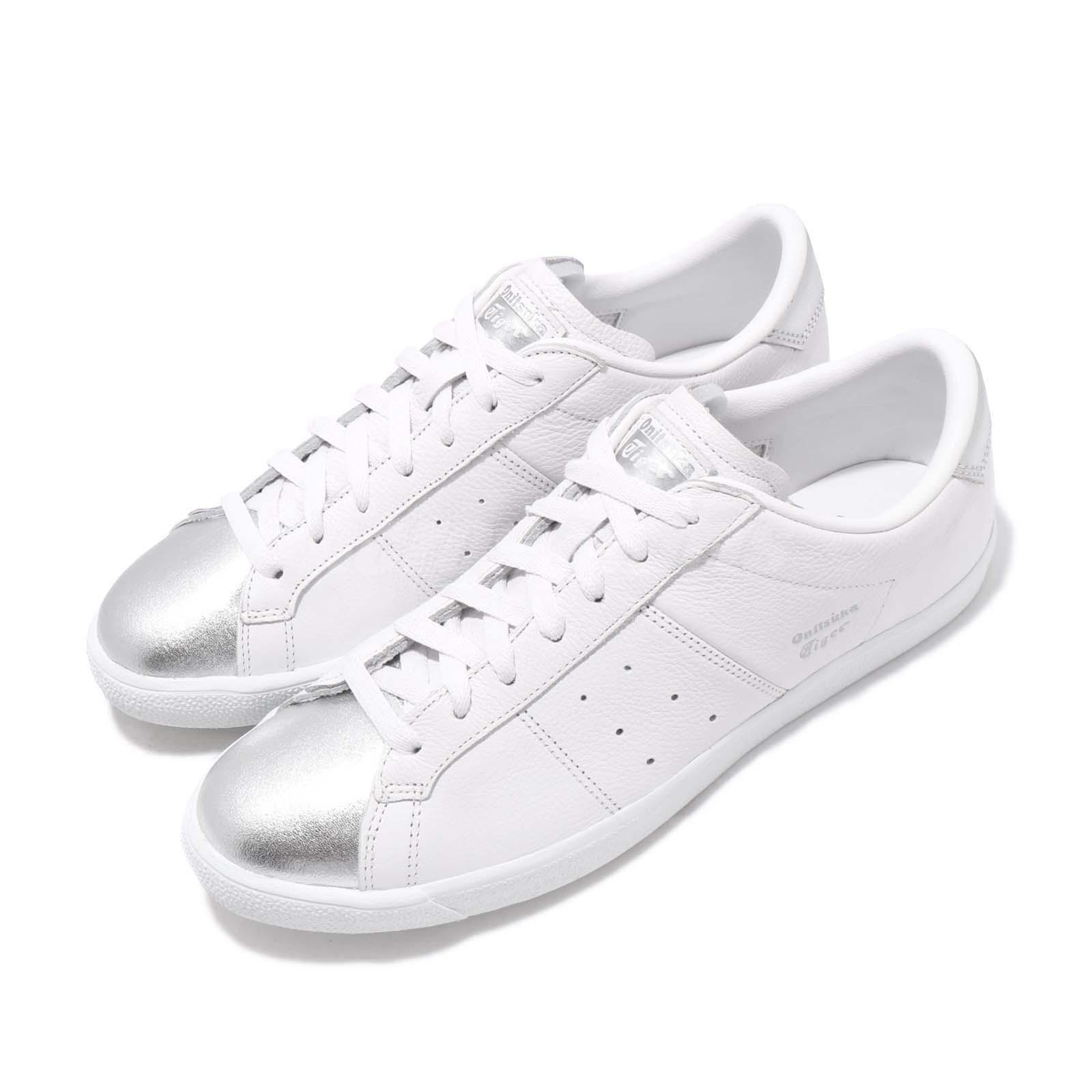 new concept 4eca5 bea2c Details about Asics Onitsuka Tiger Lawnship White Silver Men Casual Shoes  Sneakers D518K-0193