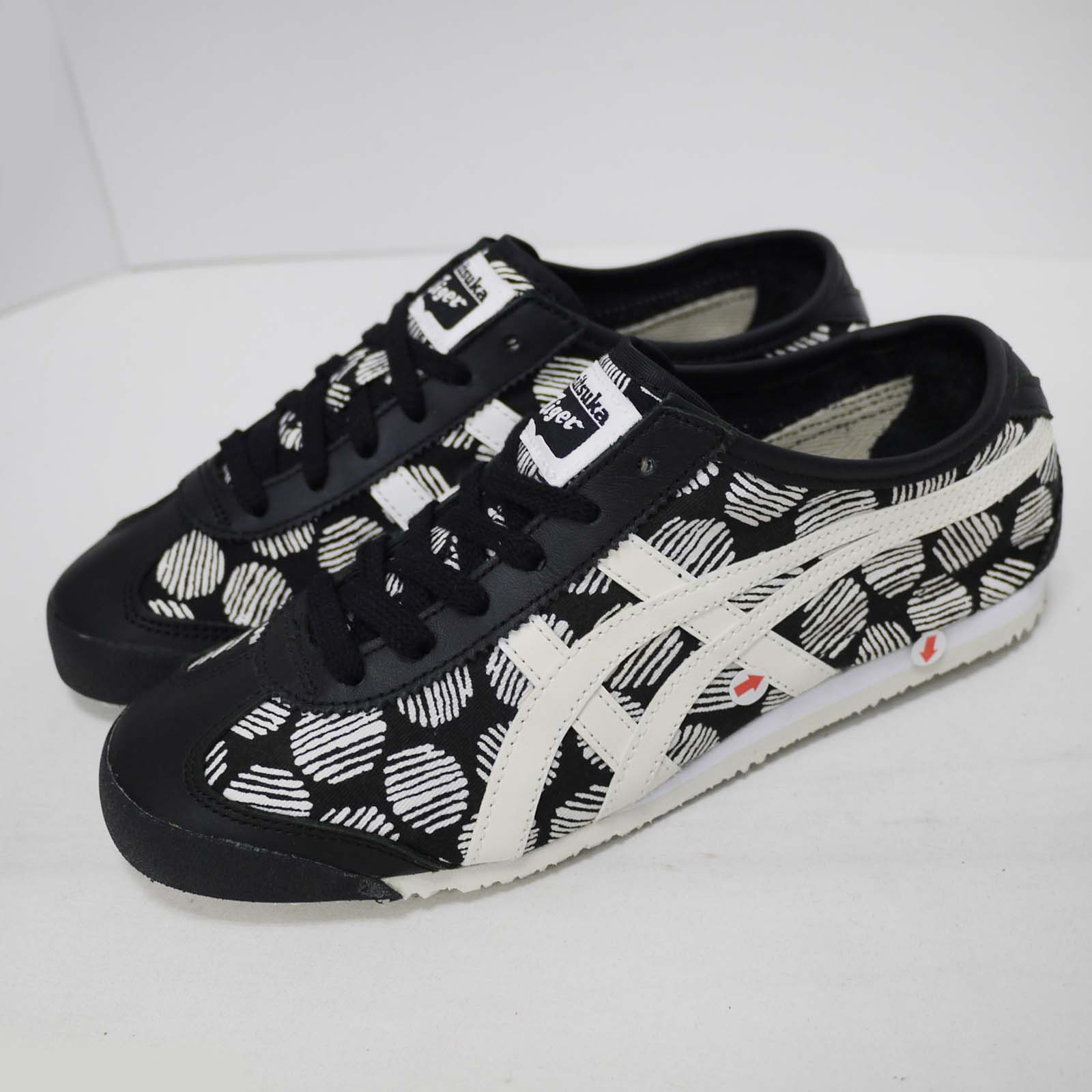 watch 731da dffe8 Details about Asics Onitsuka Tiger Mexico 66 Left Foot With Discoloration  Men Shoes D620N-9001