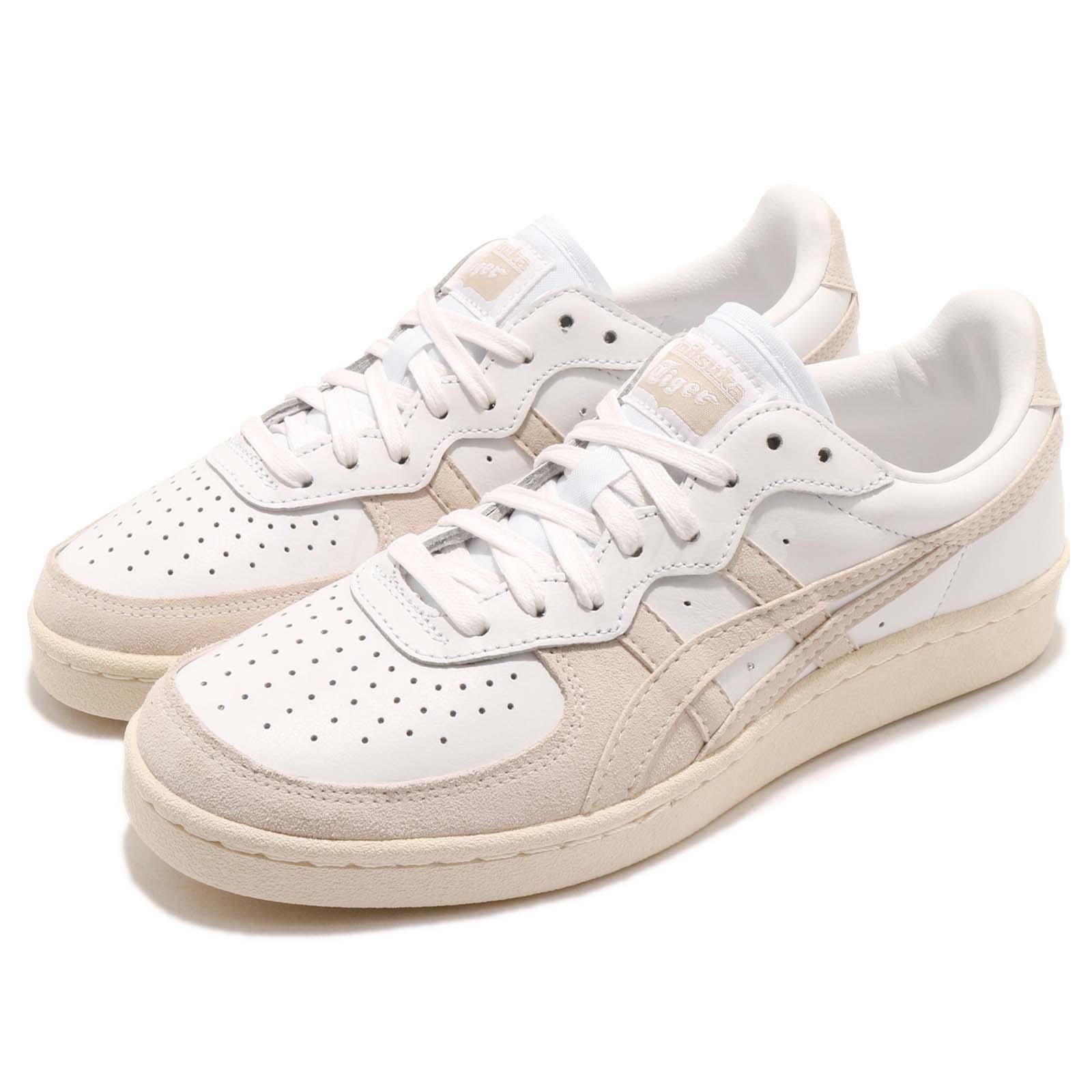 Extensamente Decorar Roux  Asics Onitsuka Tiger GSM White Beige Men Women Casual Shoes Sneakers  D6H1L-0101 | eBay