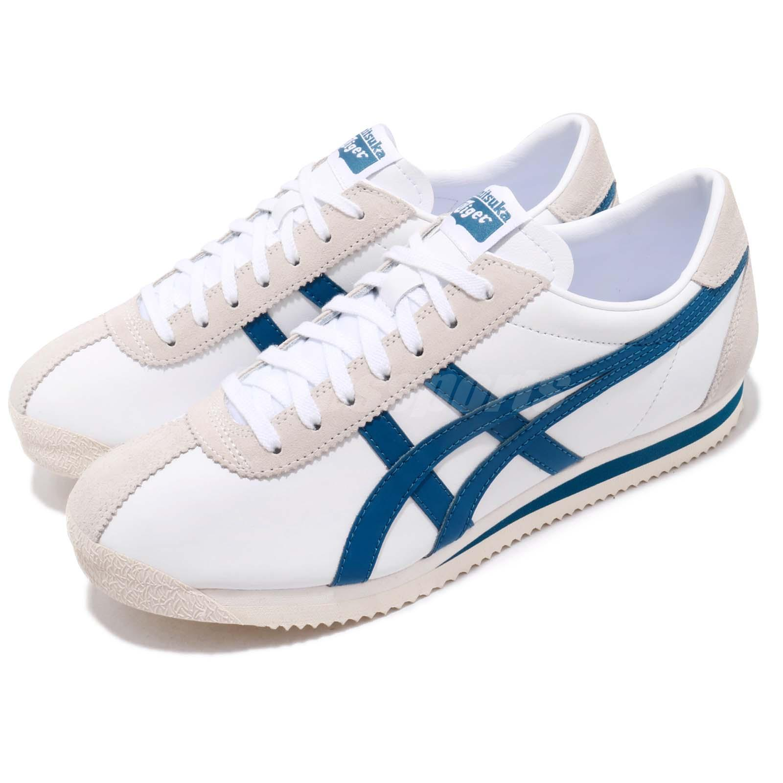 ee3bcceb Details about Asics Onitsuka Tiger Corsair White Deep Sapphire Men Running  Shoes D7J4L-100