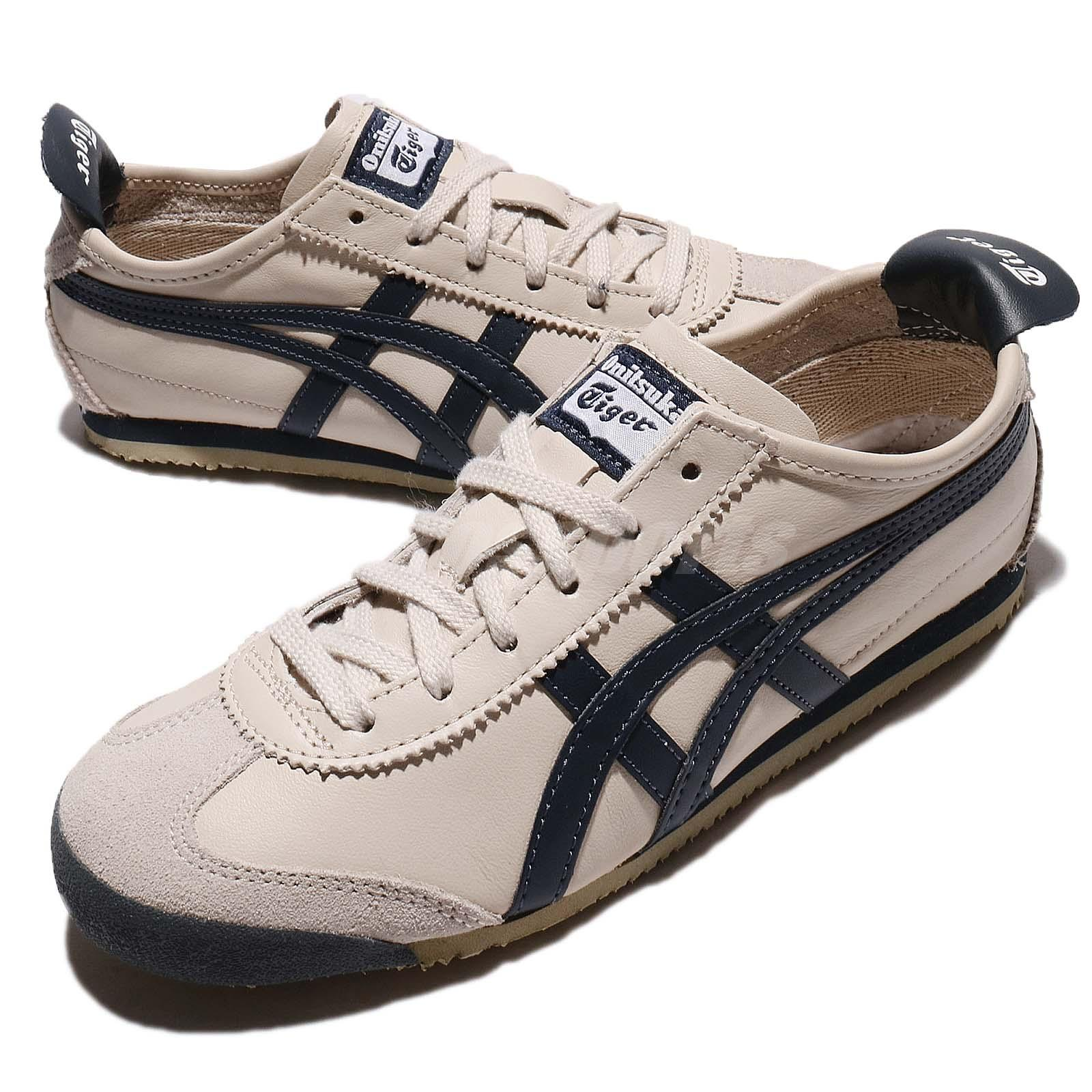 buy popular 8481f 1a0a4 Details about Asics Mexico Onitsuka Tiger 66 Birch India Ink Latte Men Shoe  Sneaker DL408-1659