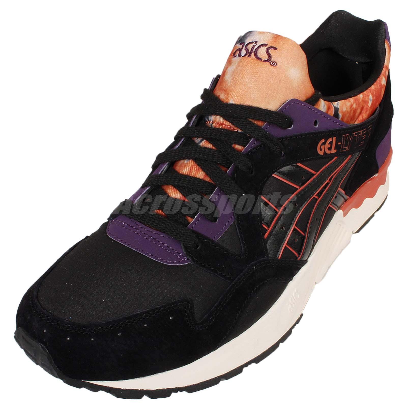 Details about Asics Tiger Gel Lyte V 5 The Storm Pack Black Orange Mens Retro Shoes H602N 9090