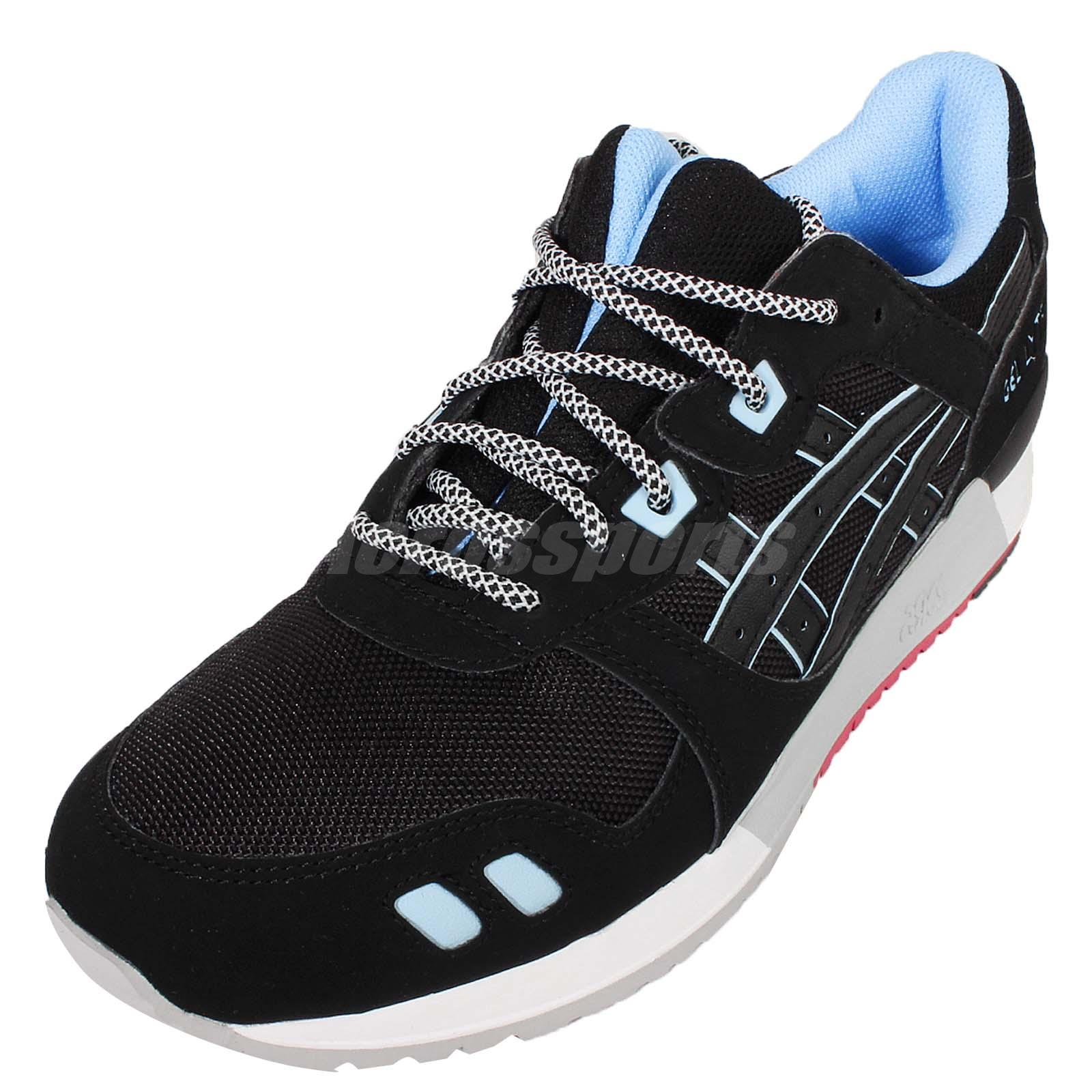 sports shoes ff341 ec869 Details about Asics Tiger Gel-Lyte III 3 Future Pack Black Blue Mens Shoes  Sneakers H637Y-9090