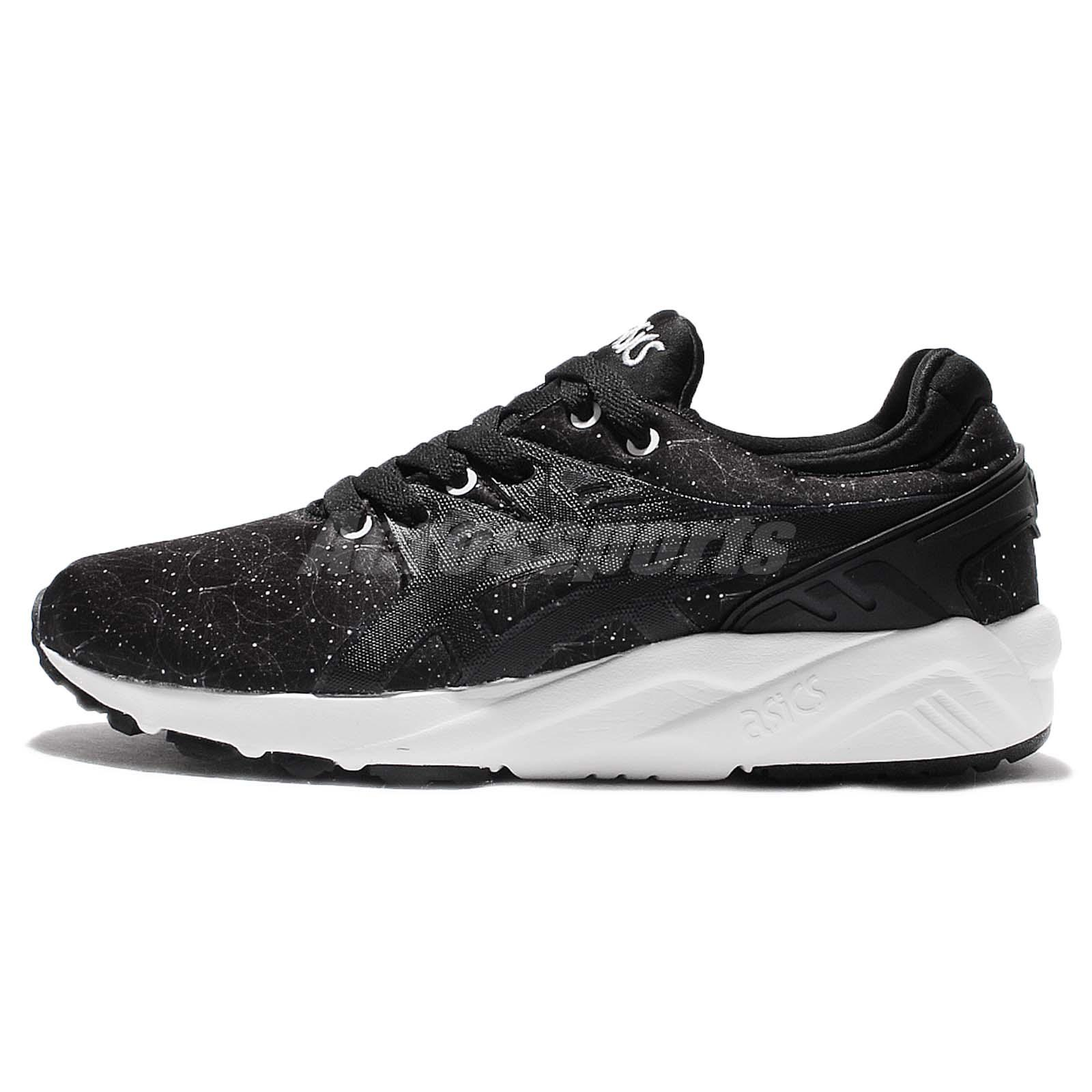 ASICS Tiger Gel-Kayano Trainer Evo Black White Mens Running Shoes HN6B3-9090