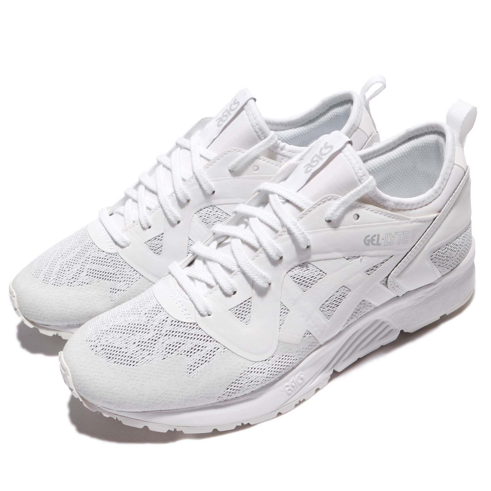 d050dcdcd49d Details about Asics Tiger Gel-Lyte V NS White Grey Women Running Shoes  Sneakers HY7H8-0101
