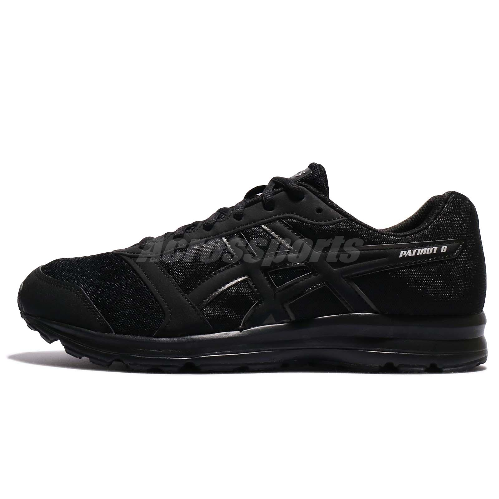Asics Patriot 8 VIII Black Out Men Running Shoes Sneakers Trainers T619Q 9090