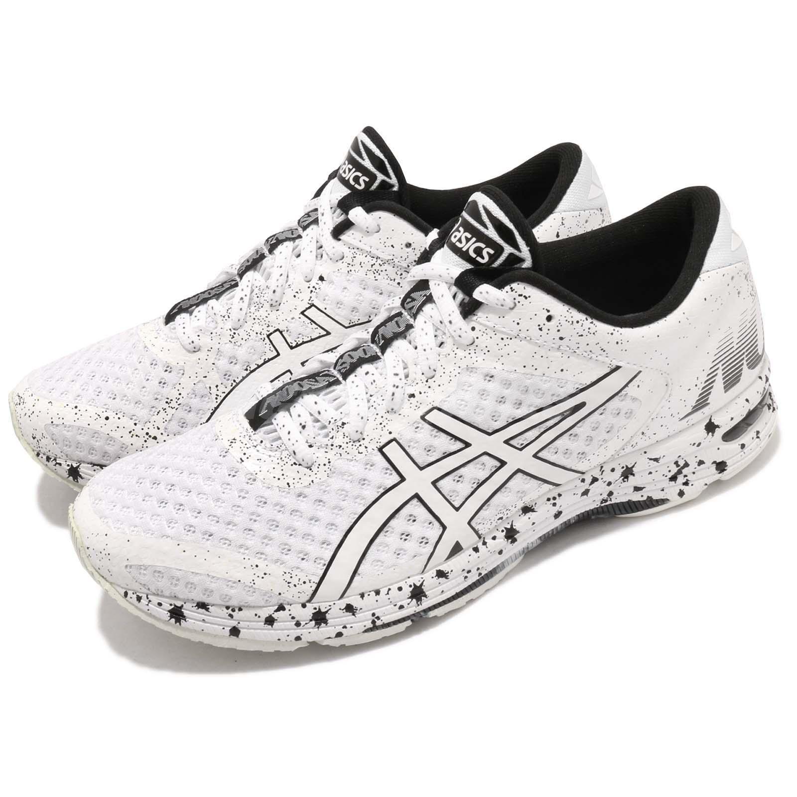 low priced 6a461 61e52 Details about Asics Gel-Noosa TRI 11 White Black Men Triathlon Running Shoe  Sneaker T626Q-0101