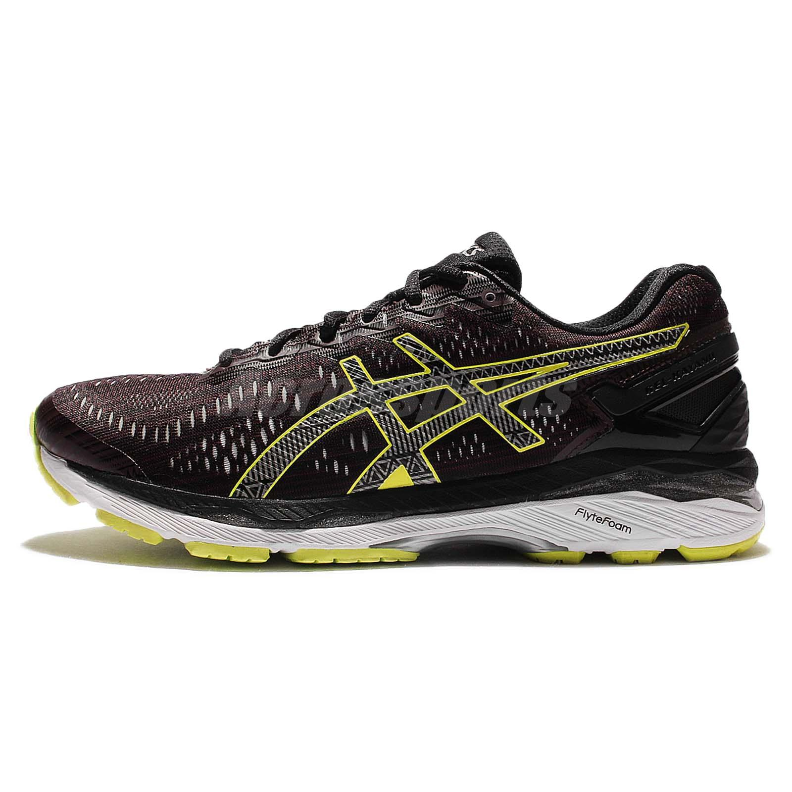 4552abedad79 Asics Gel-Kayano 23 Lite-Show Red Yellow Mens Running Shoes Sneakers  T6A1N-2590