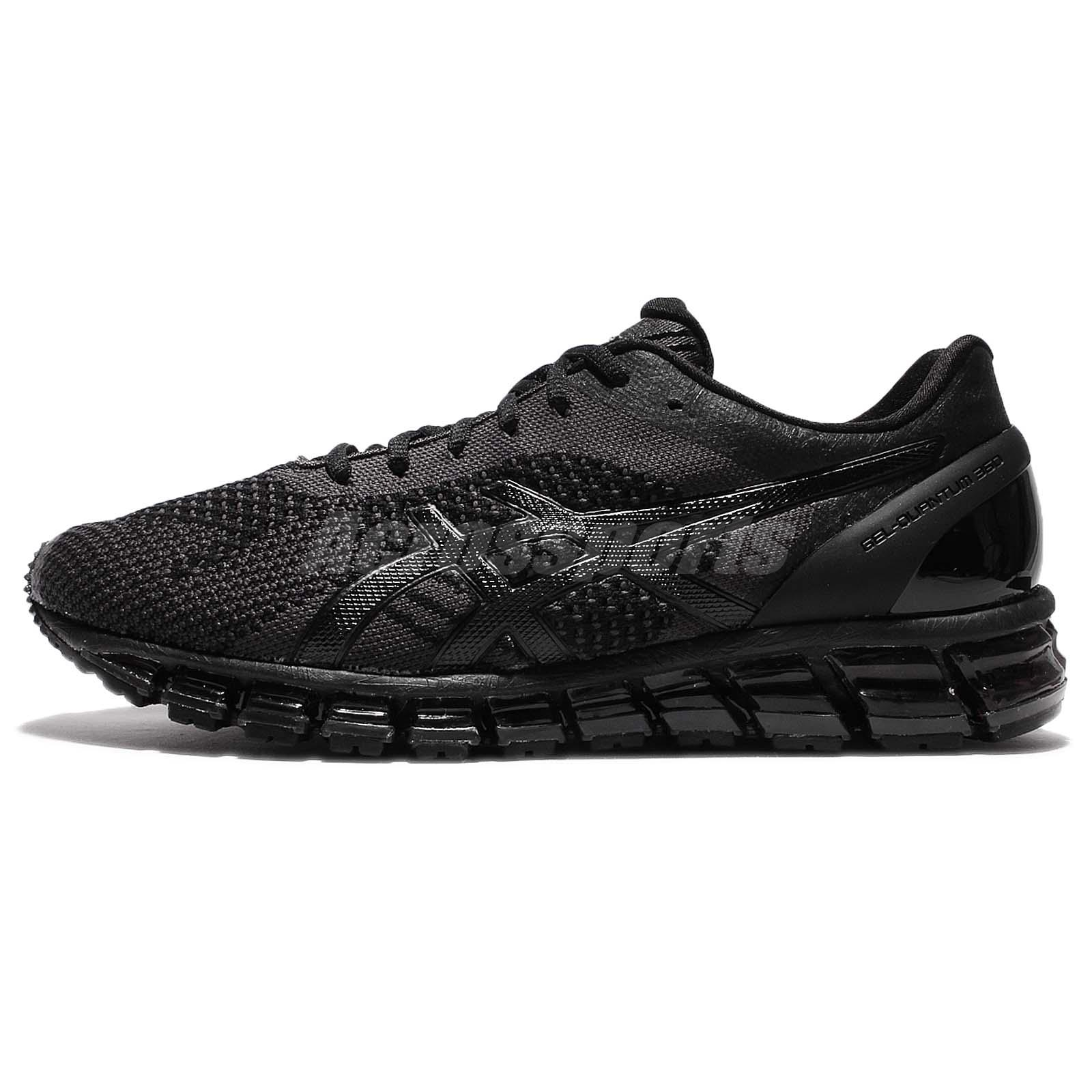 best sneakers 28e35 c21be clearance men asics gel quantum 360 black grey 22c88 9241d