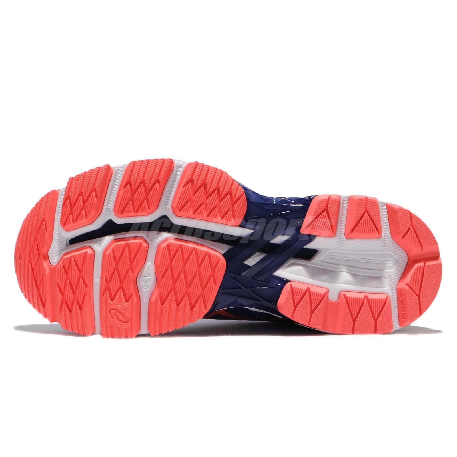 1580f3cd09 Asics GT-2000 5 Regatta Blue Flash Coral Women Running Shoes ...