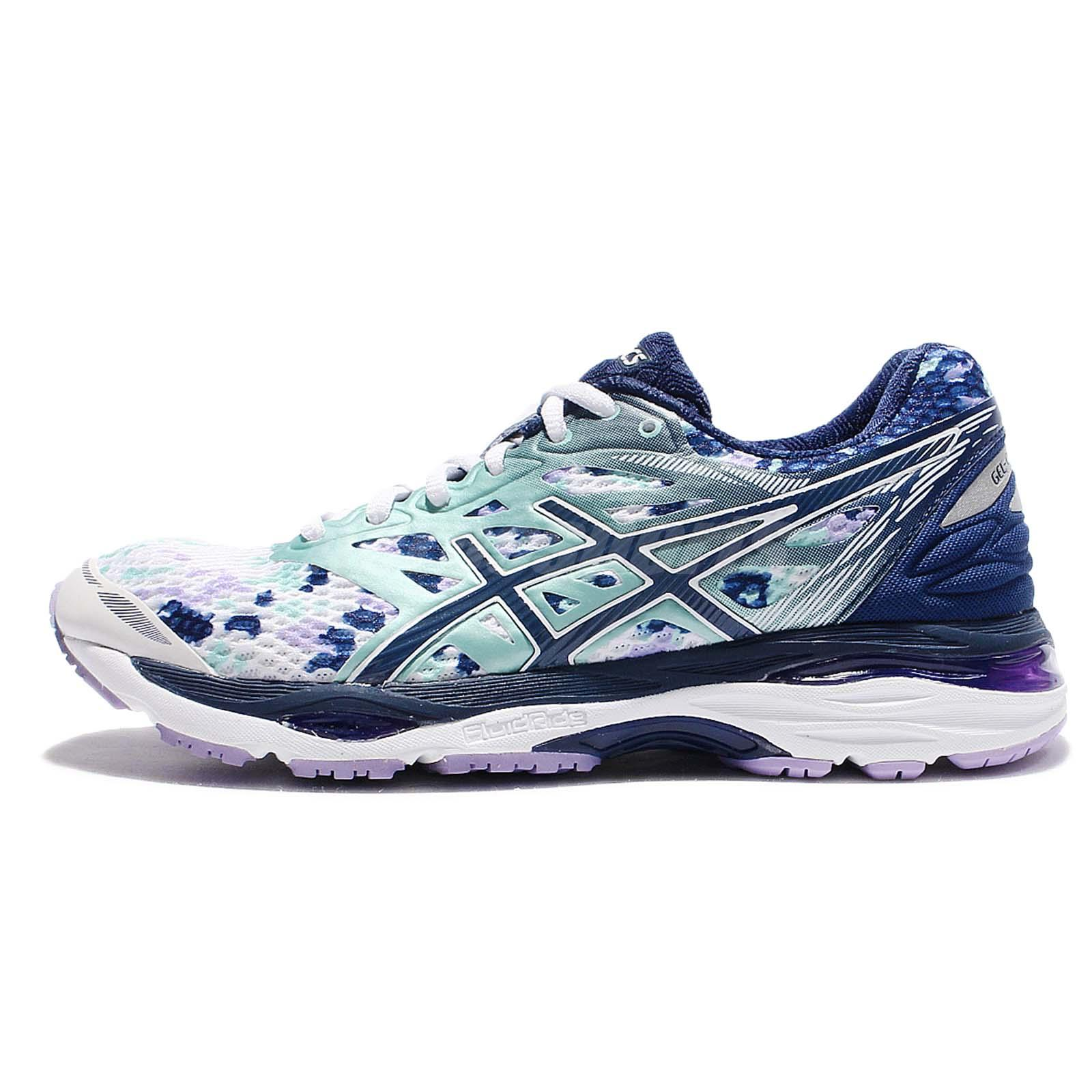 8bb89d467b Asics Gel-Cumulus 18 LE Blue White Women Running Shoes Trainers T780N-0149