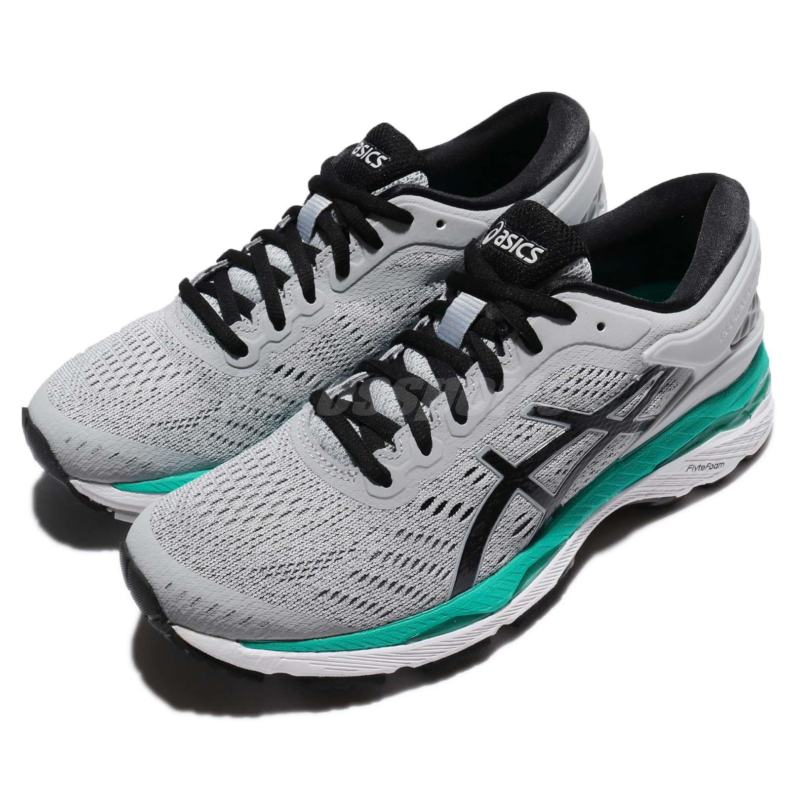 Details about Asics Gel-Kayano 24 Grey Black Green Women Running Shoes  Sneakers T799N-9690 63b1d85f8c