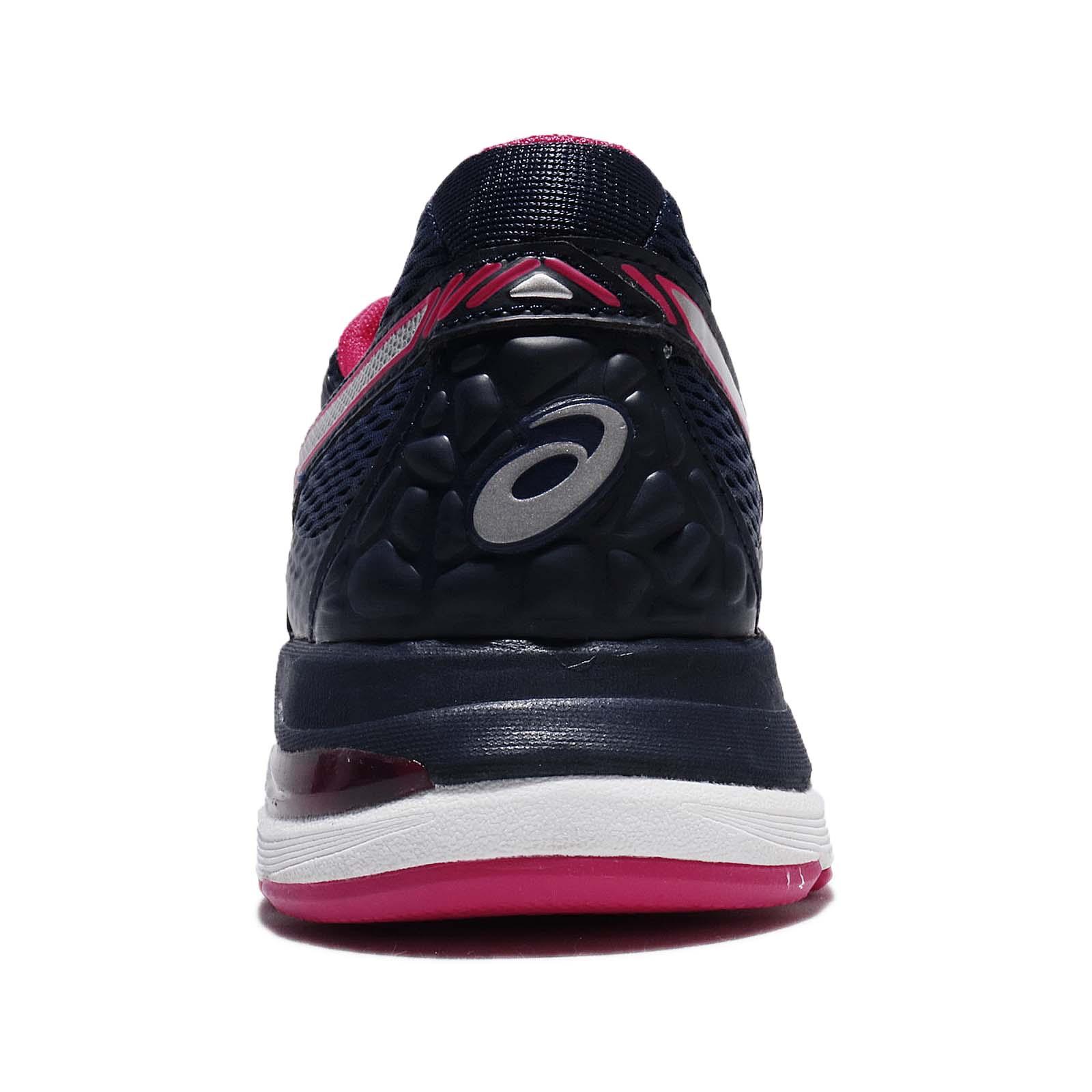 77b570dad87d Asics Gel-Pulse 9 Blue Silver Bright Rose Women Running Athletic ...