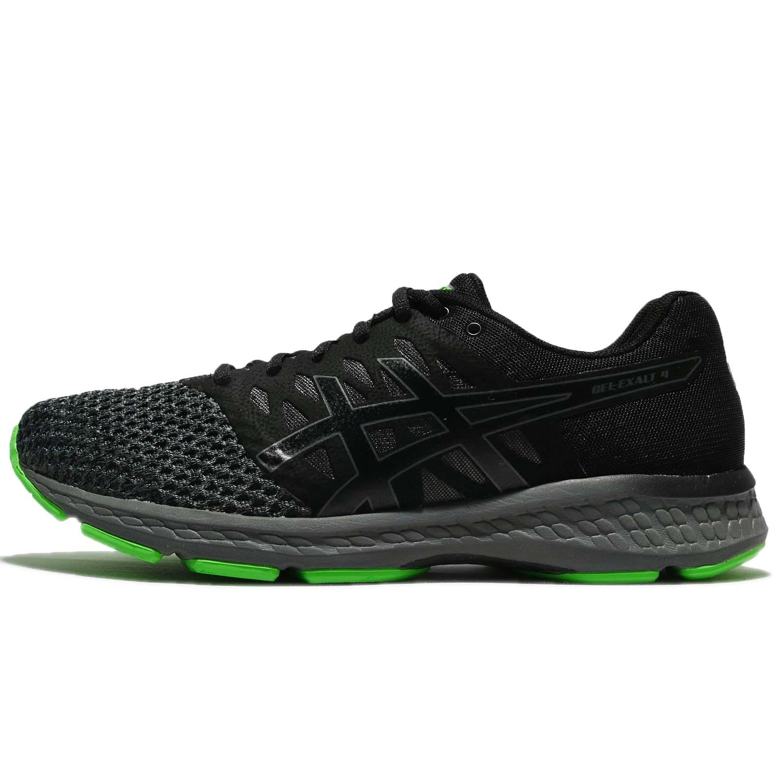 Asics Gel-Exalt 4 IV Black Carbon Green Men Running Shoes Trainers T7E0N- 9097 3b10e964e6