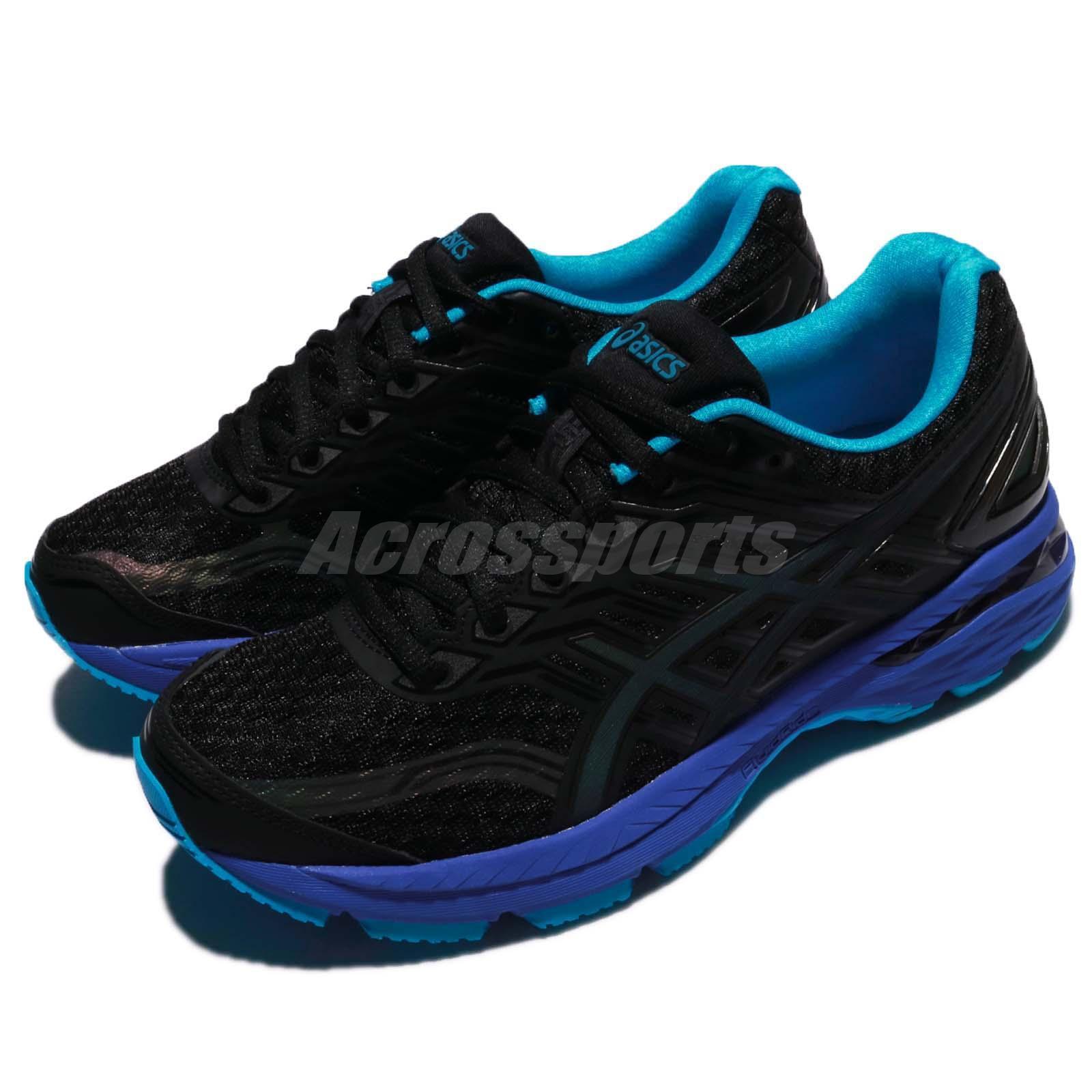 Details about Asics GT-2000 5 Lite-Show Black island Blue Navy Women Running Shoes T7E6N-9041