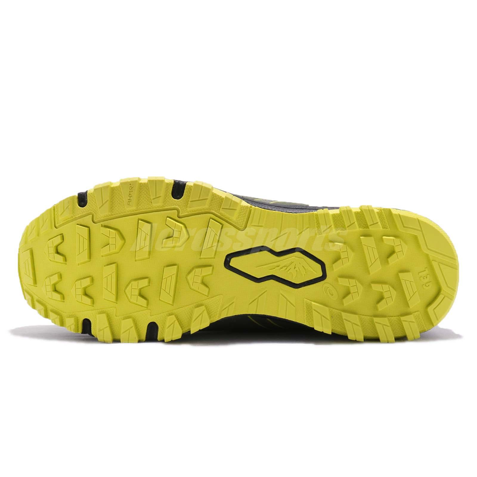 98d4af34cf376 Details about Asics Gel-FujiRado Laceless Green Black Yellow Men Trail  Running Shoe T7F2N-8189