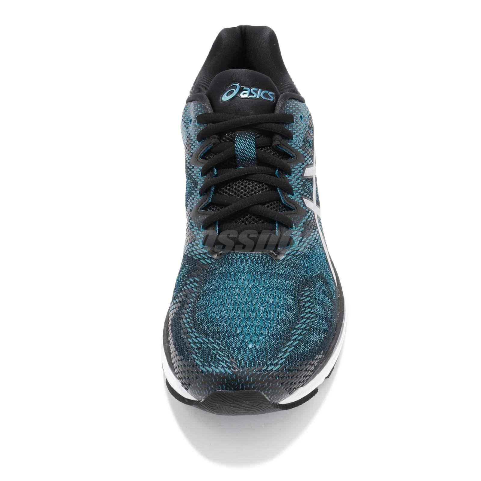 c45f439101 Asics Gel-Nimbus 20 Island Blue White Black Men Running Training ...