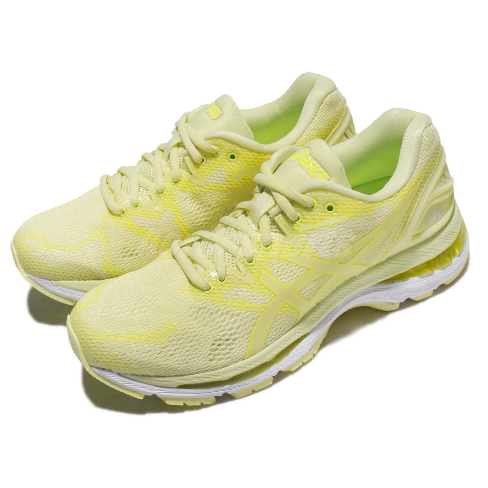 7647eff6e92d Details about Asics Gel-Nimbus 20 Limelight Yellow Women Running Shoes  Sneakers T850N-8585