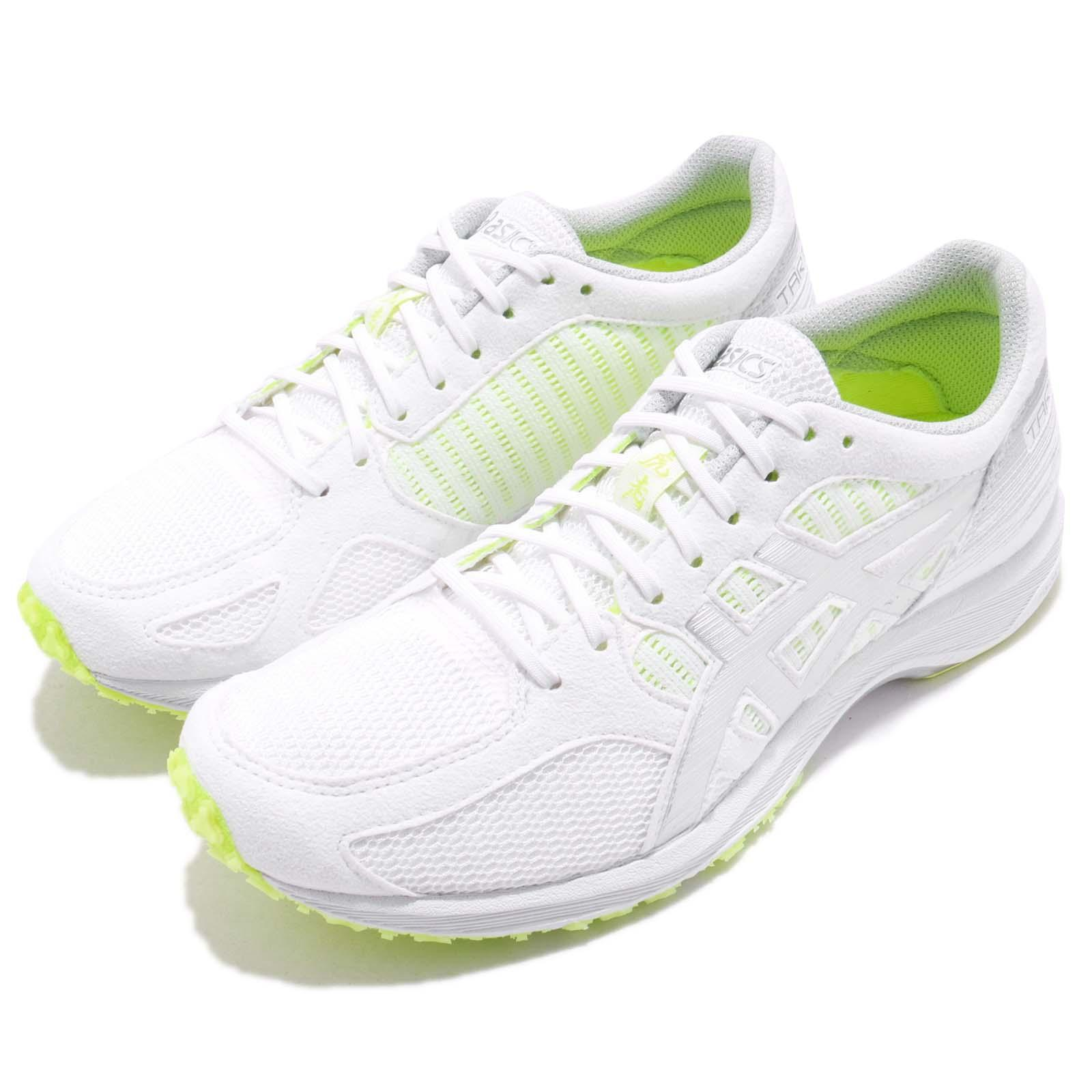 Details about Asics Tartherzeal 6 VI White Silver Safety Yellow Women Running Shoes T870N 0193