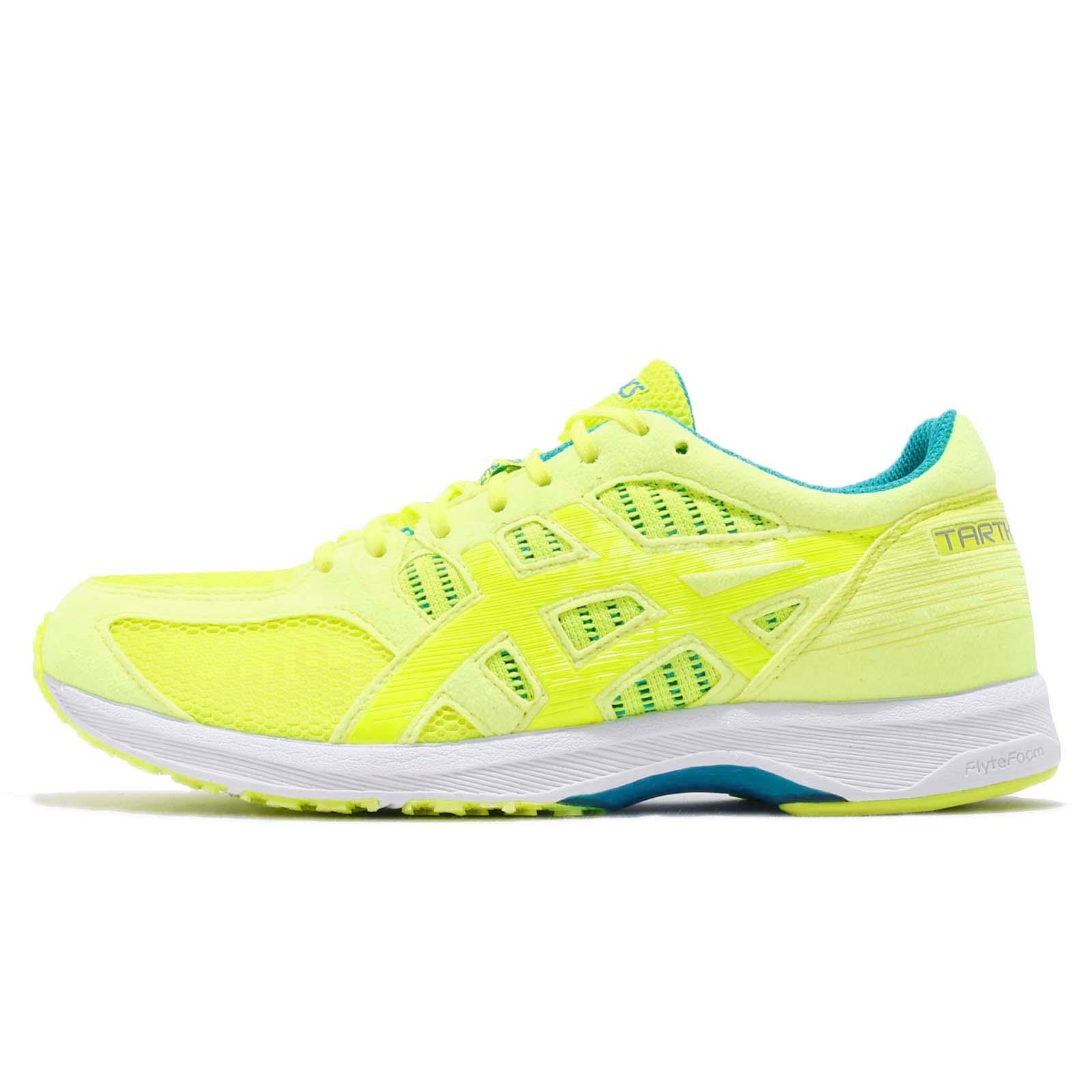 c8e5e4f2b4f4 Asics Tartherzeal 6 Flash Yellow Neon Lime Women Running Shoes Sneaker  T870N-750