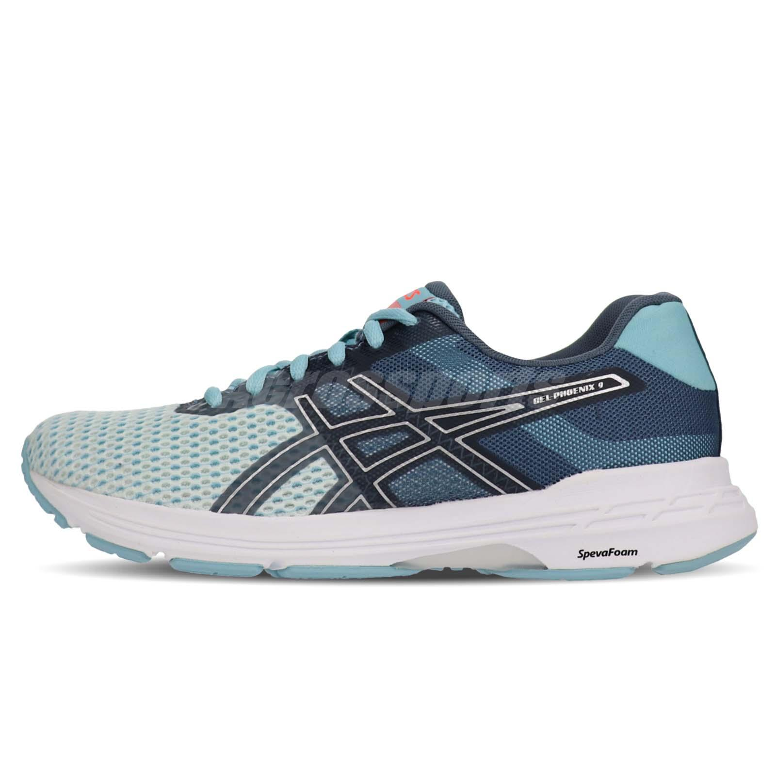 asics gel phoenix 9 womens running shoes zip