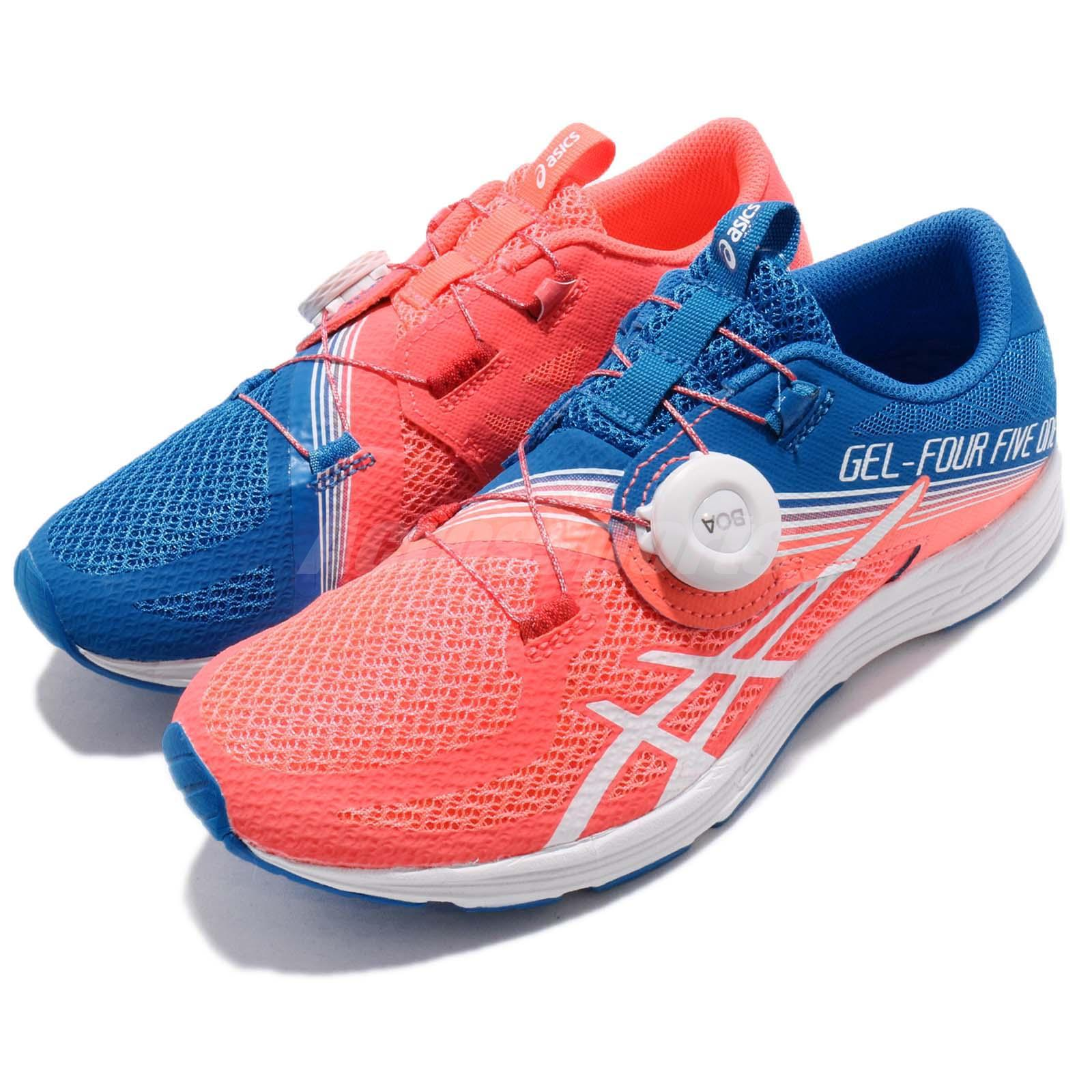 Details about Asics Gel-451 BOA Flash Coral Blue Women Running Shoes Sneakers T874N-0601