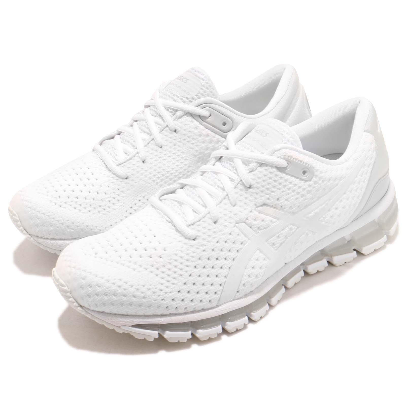 reputable site 34d0f d2f19 Details about Asics Gel-Quantum 360 Knit 2 White Women Running Training  Shoe Sneaker T890N-100