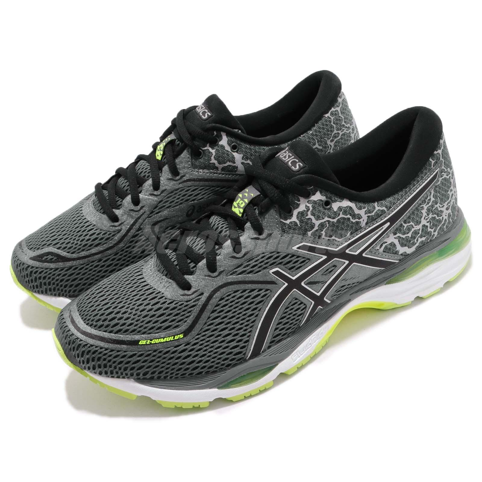 5c9814461 Details about Asics Gel-Cumulus 19 Lite-Show Grey Yellow Men Gear Road Running  Shoe T8A1N-9790