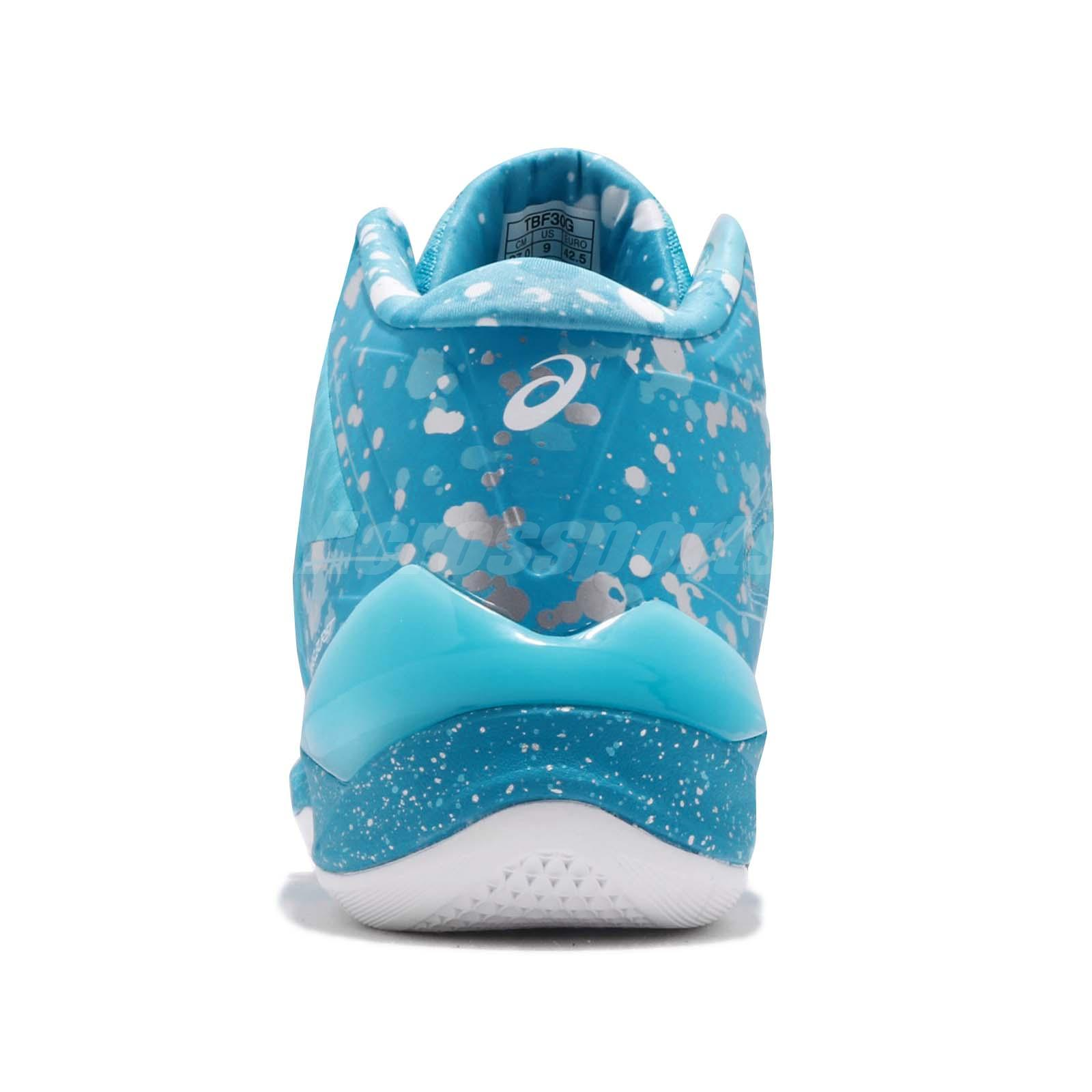 Asics Gel-burst 21 Ge Hi Aqua Island Blue Men Basketball Shoes Tbf30g-3941 Clothing, Shoes & Accessories Men's Shoes