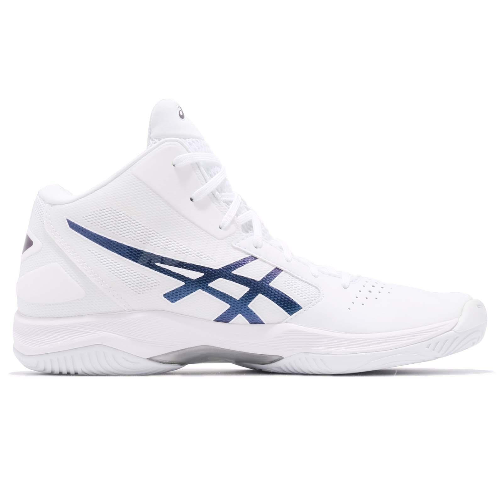 2feca268bf91 Asics Gel-Hoop V 10 White Prism Space Blue Men Basketball Shoes ...