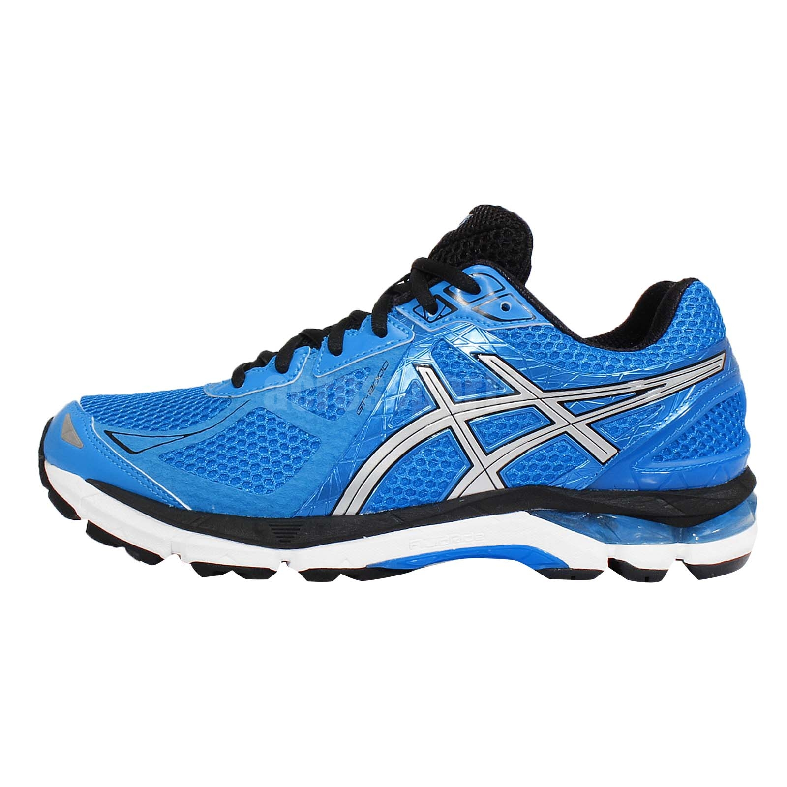 asics gt 2000 new york 3 sw super wide blue running shoes. Black Bedroom Furniture Sets. Home Design Ideas