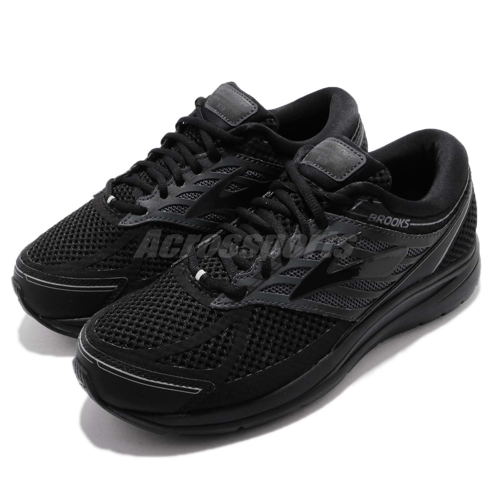 extremely unique hoard as a rare commodity great deals Details about Brooks Addiction 13 4E Extra Wide Black Men Running Athletic  Shoes 110261 4E