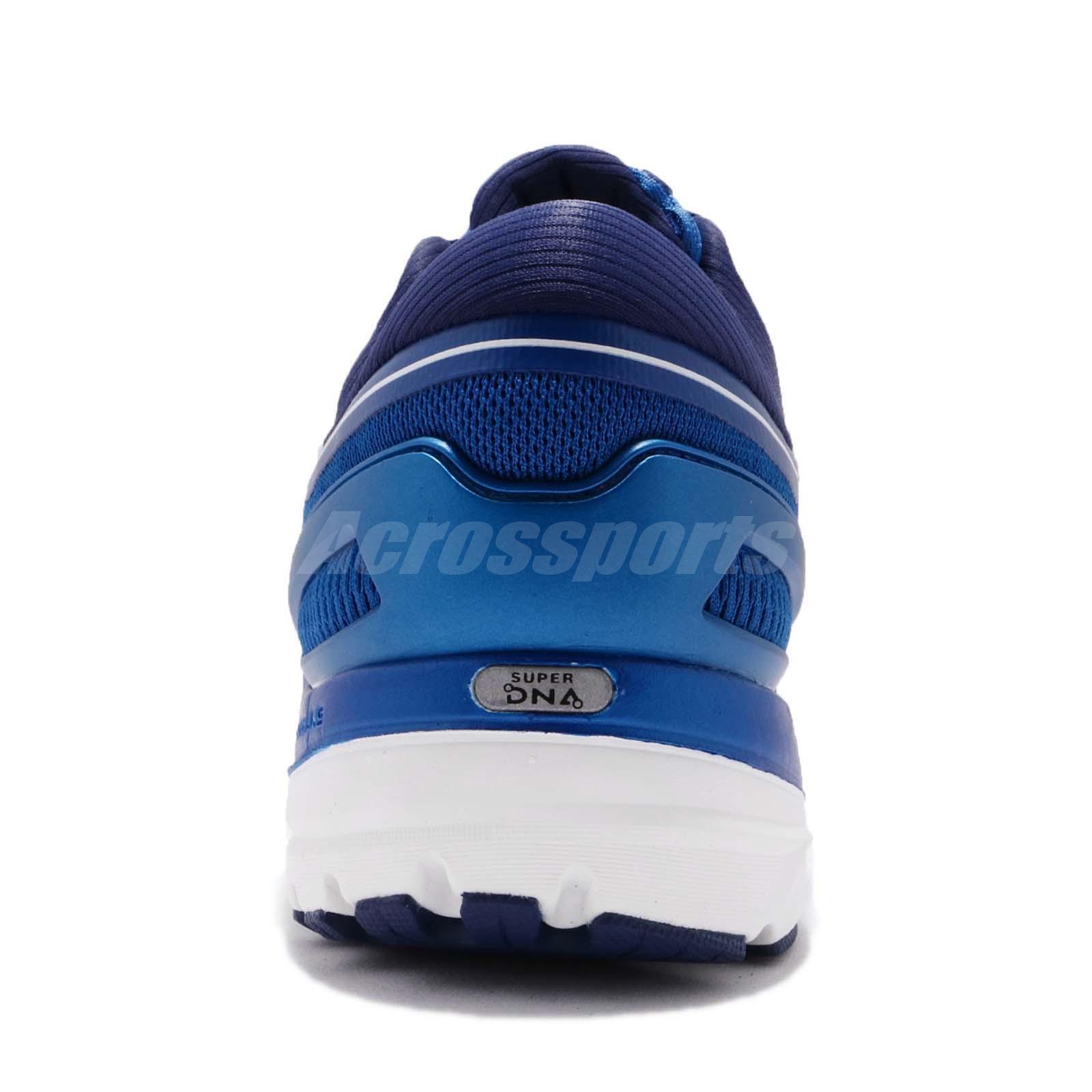 bf740965aa5 Brooks Transcend 5 V Blue Orange White Men Running Shoes Sneakers ...