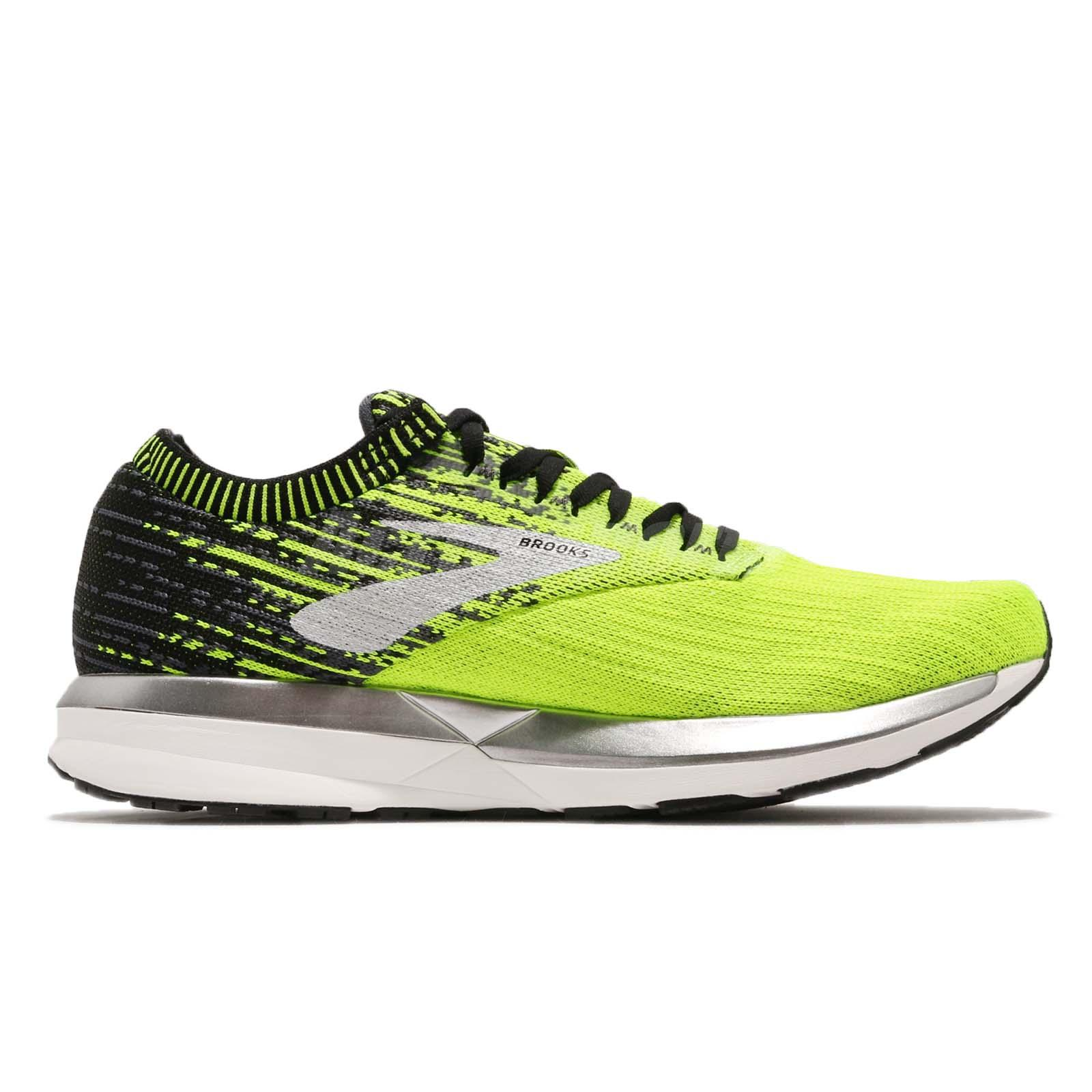 BROOKS RICOCHET UOMO black//lime//blue grass Art.110293 1D 071