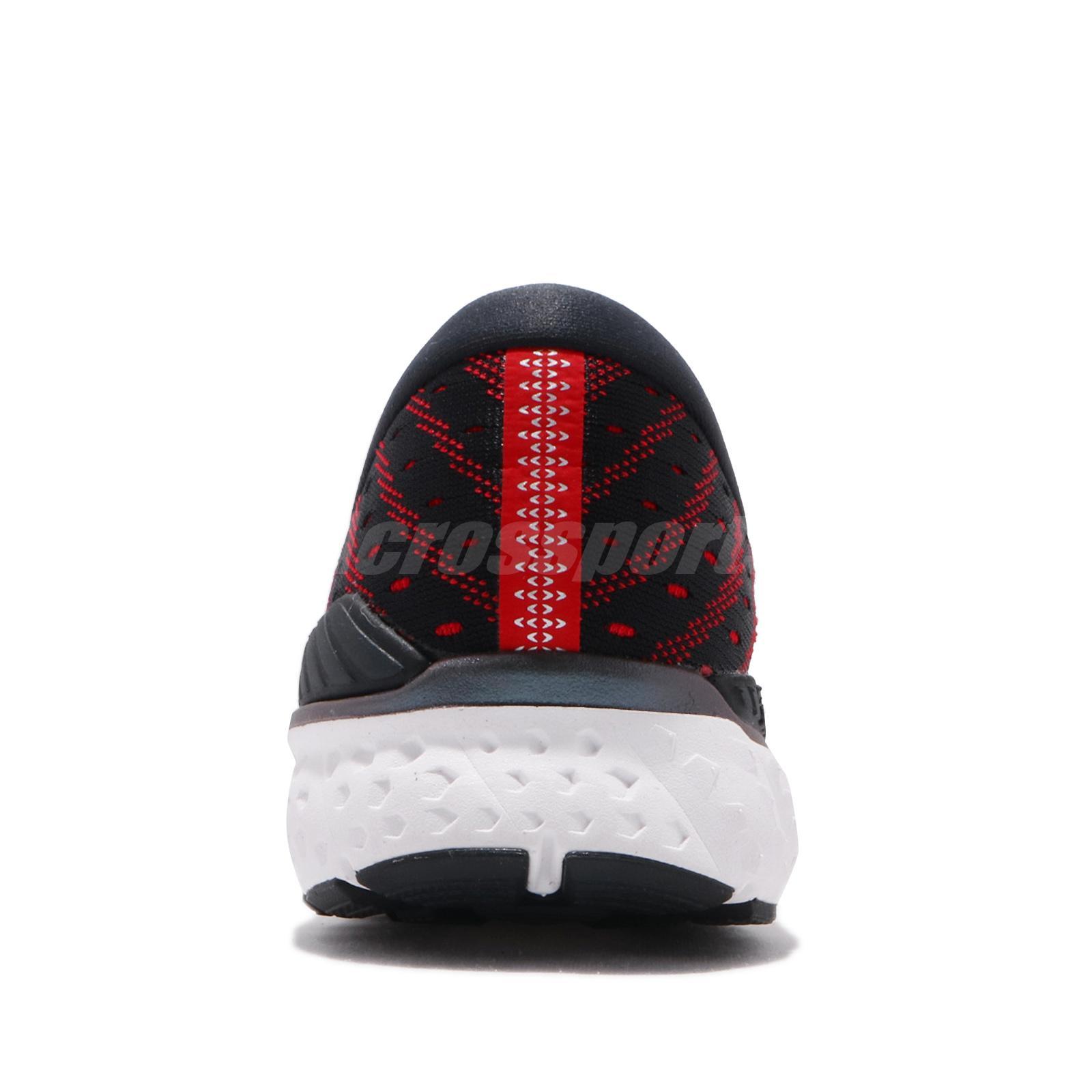 Men Brooks Transcend 6 Black Ebony Red White Men Running Shoes Sneakers 110299 1D Shoes