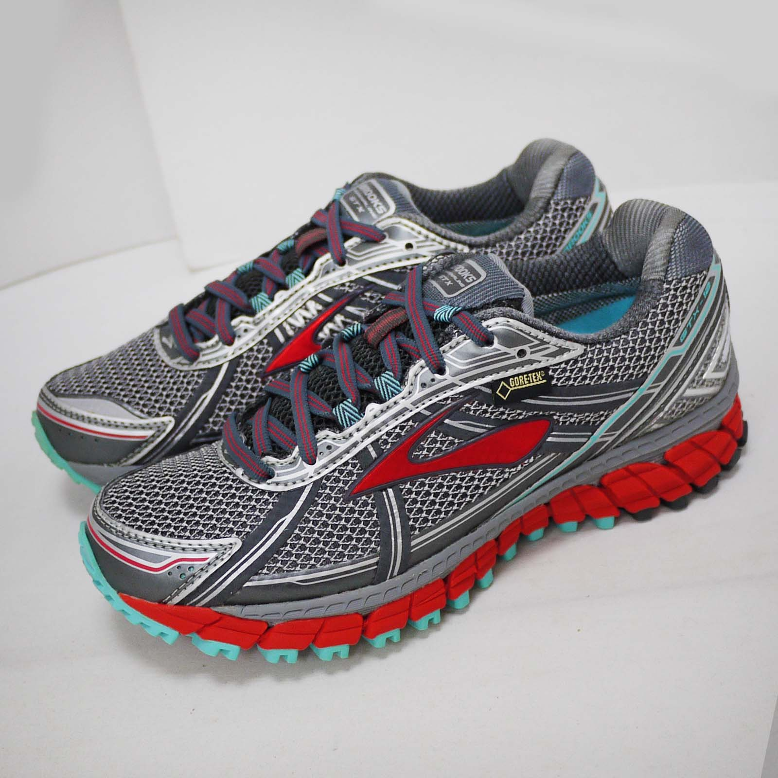311e20ee6cefa Details about Brooks Adrenaline ASR 12 GTX Right Foot With Discoloration  Women Shoes 120189 1B