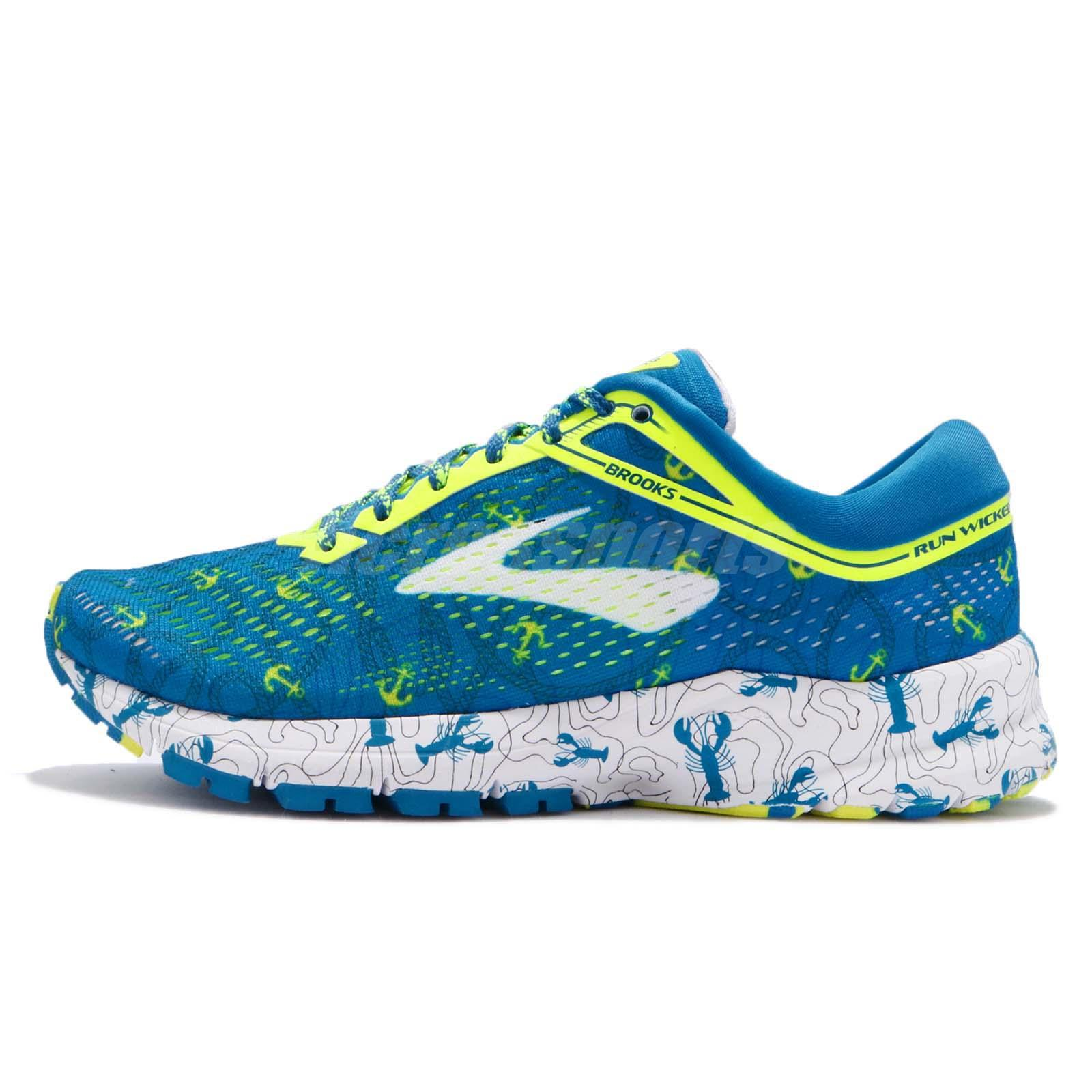 c5764f24600 Brooks Launch 5 Boston Marathon Lobster Blue Volt Women Running Shoes  120266 1B