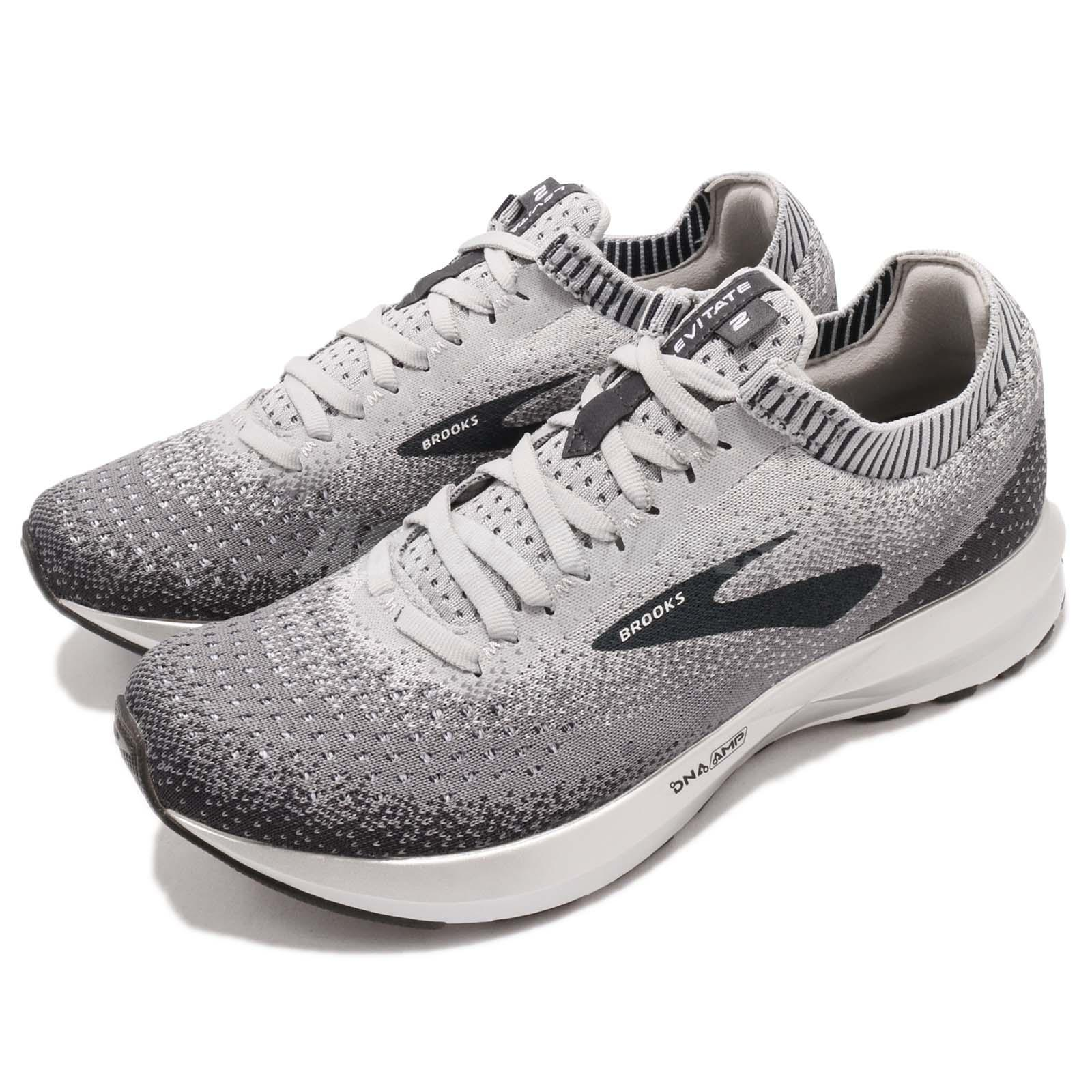 67c8d24835f Details about Brooks Levitate 2 Grey Black White Women Running Shoes  Sneakers 120279 1B