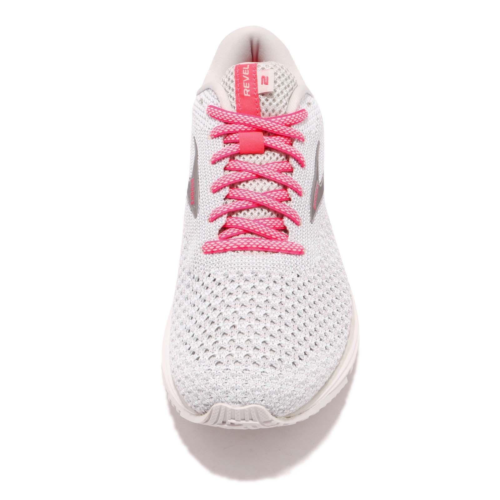 Brooks Revel 2 Black Purple Grey Women Running Training Shoes Sneakers 120281 1B