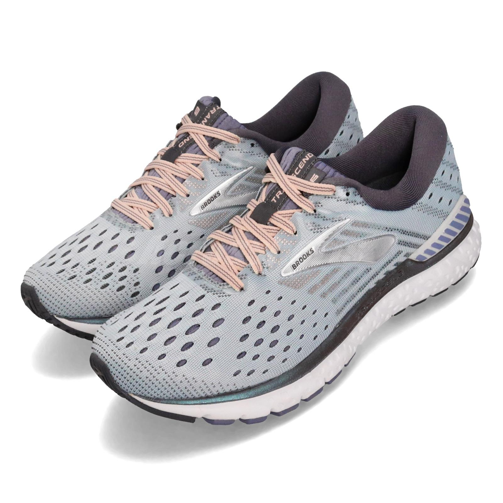 Brooks Transcend 6 Grey Pale Peach