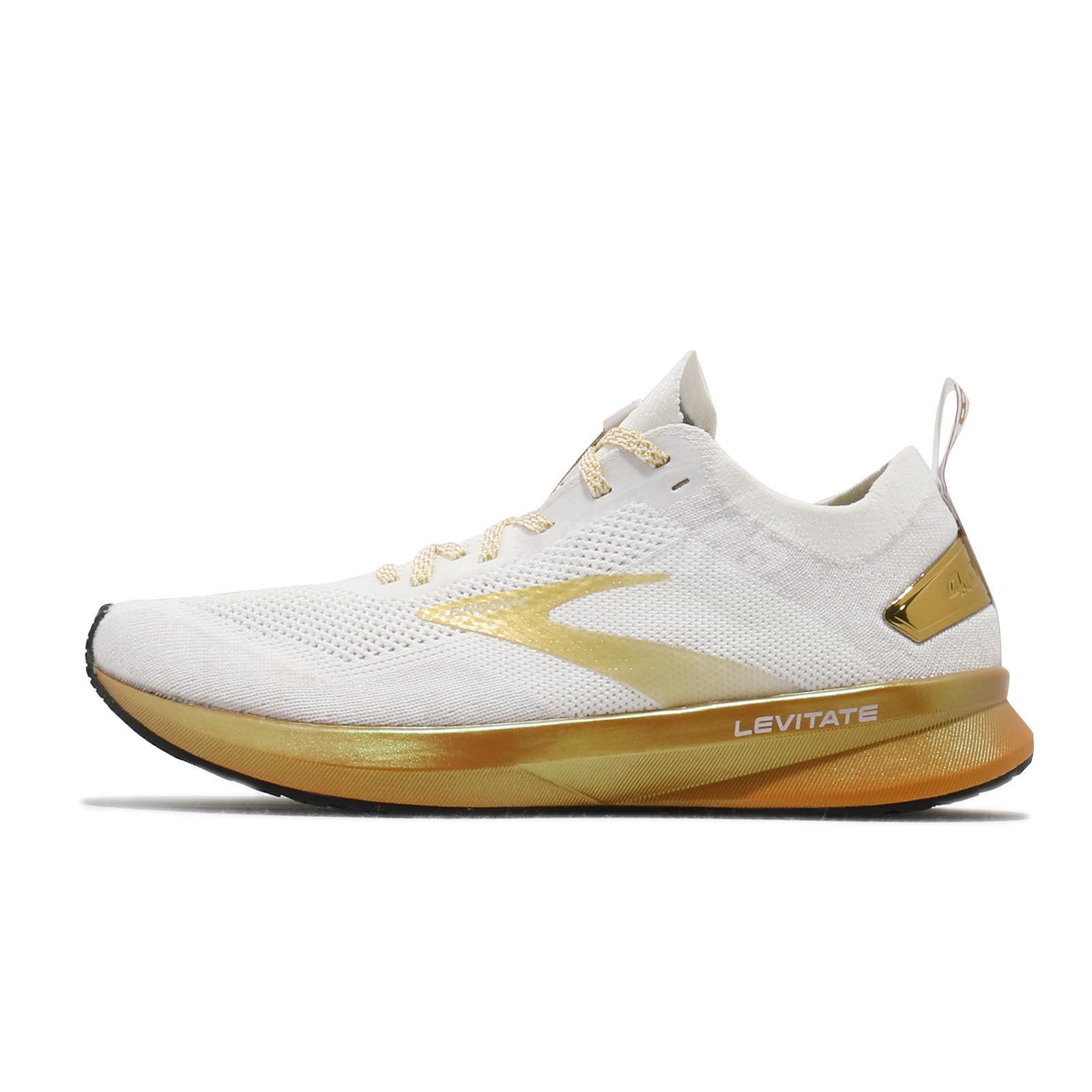 Brooks Levitate 4 White//Gold