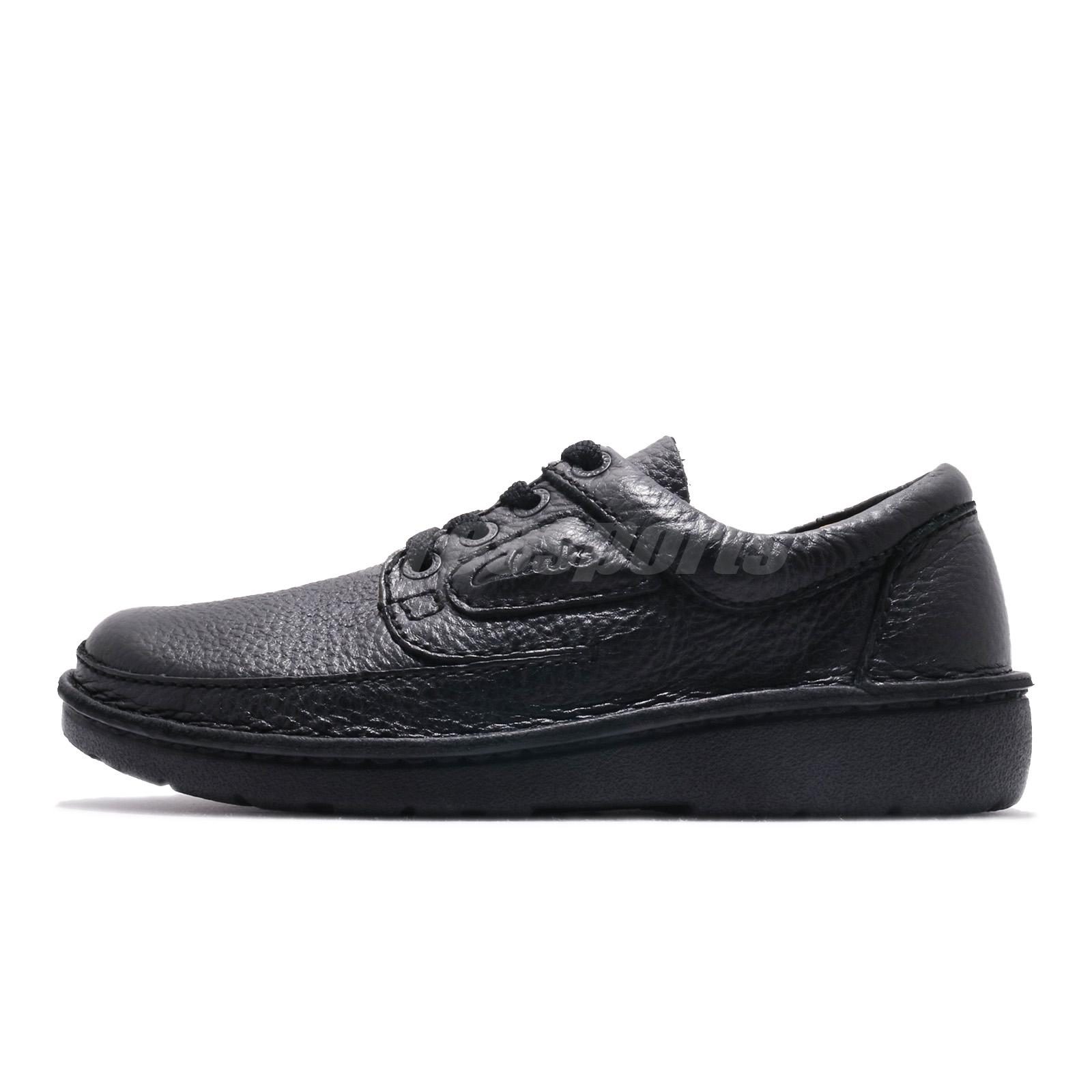 44.5 NEW CLARKS NATURE VI SPORT MENS BLACK  CASUAL SHOES SIZE 10